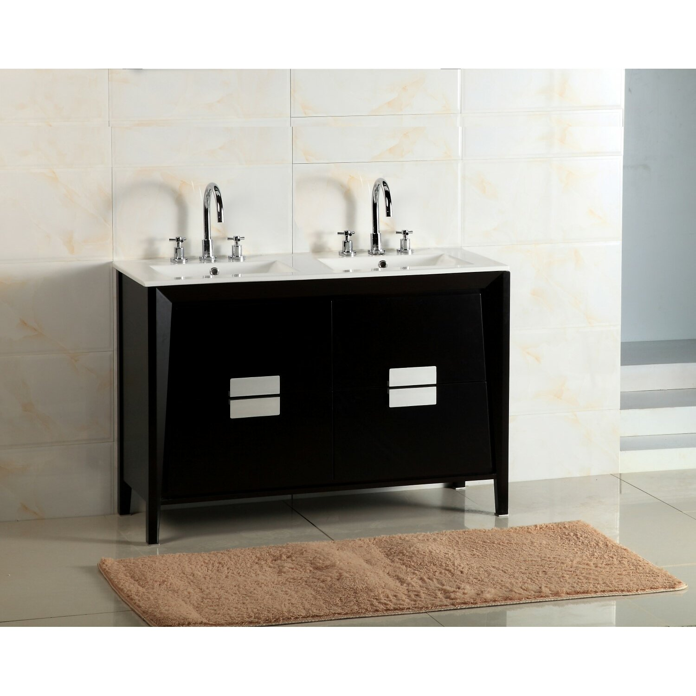 48 double sink vanity set wayfair
