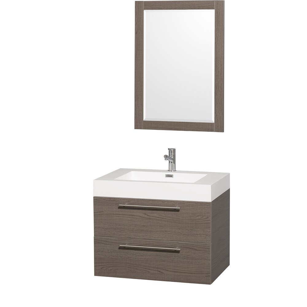 wyndham collection amare 29 single bathroom vanity set