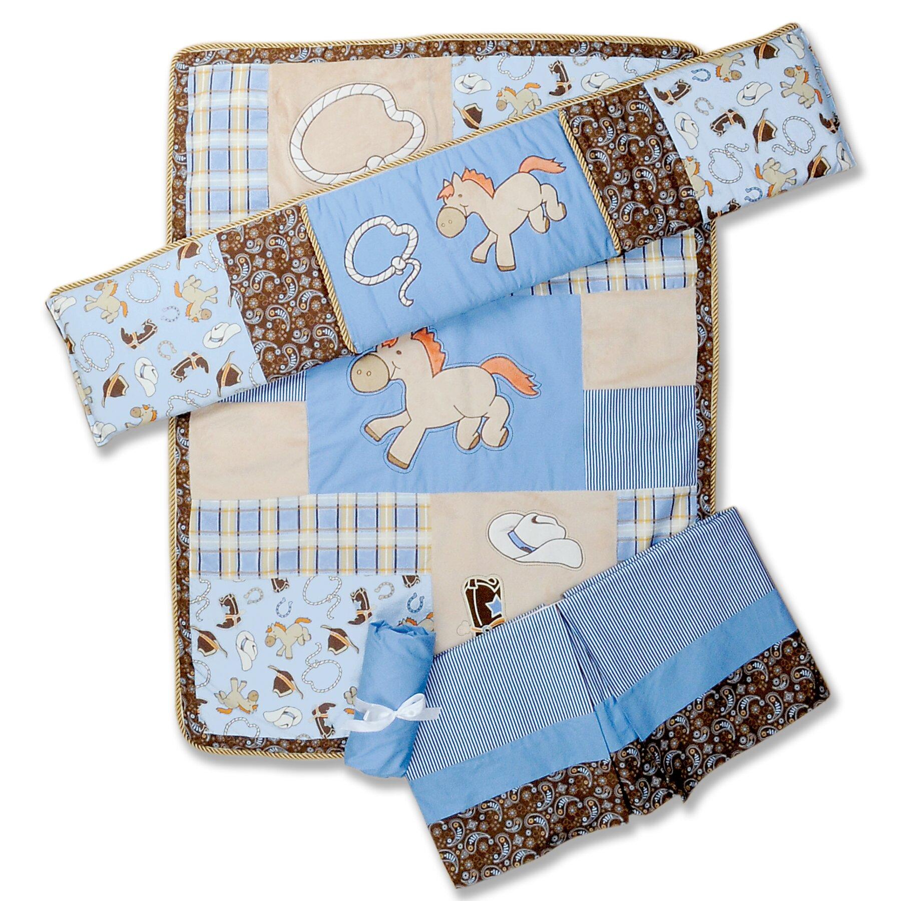 Trend Lab Cowboy Baby 4 Piece Crib Bedding Set Amp Reviews