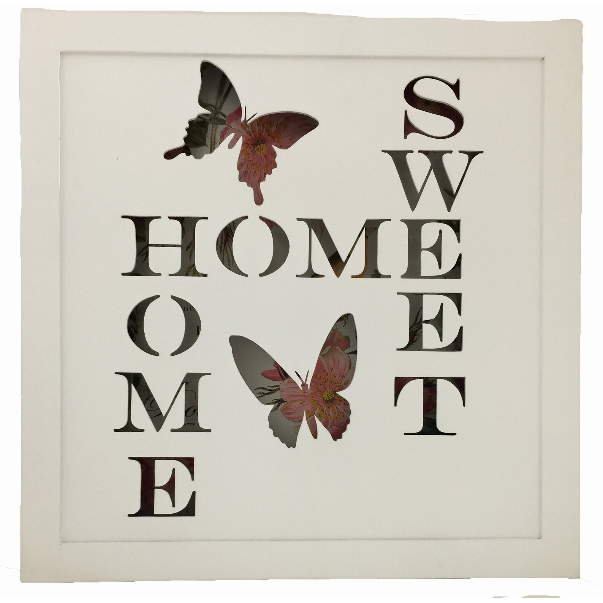 Home Sweet Home Battery Operated Lighted Sign Wall Décor