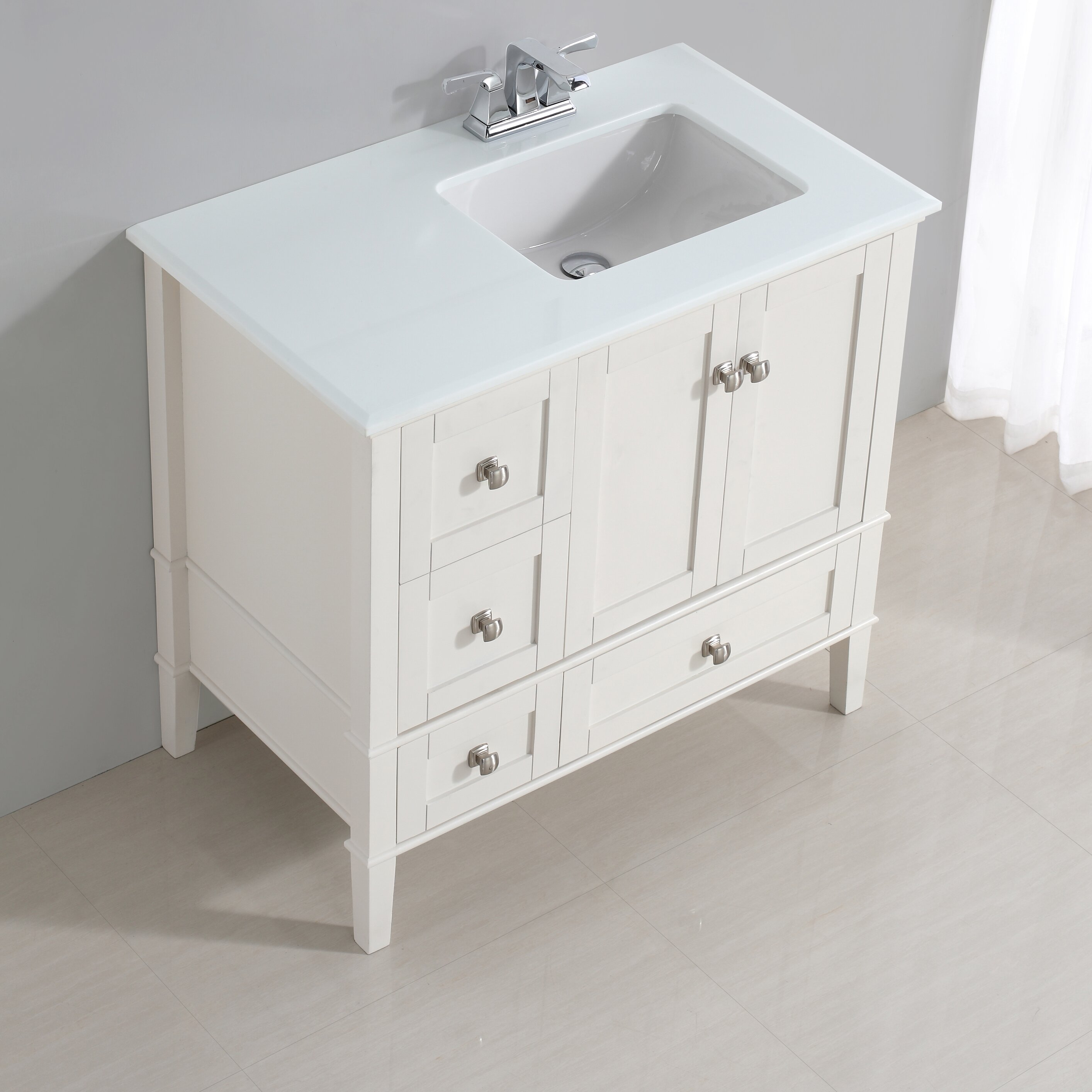 Offset Vanity Tops Interesting Bathroom No Sink