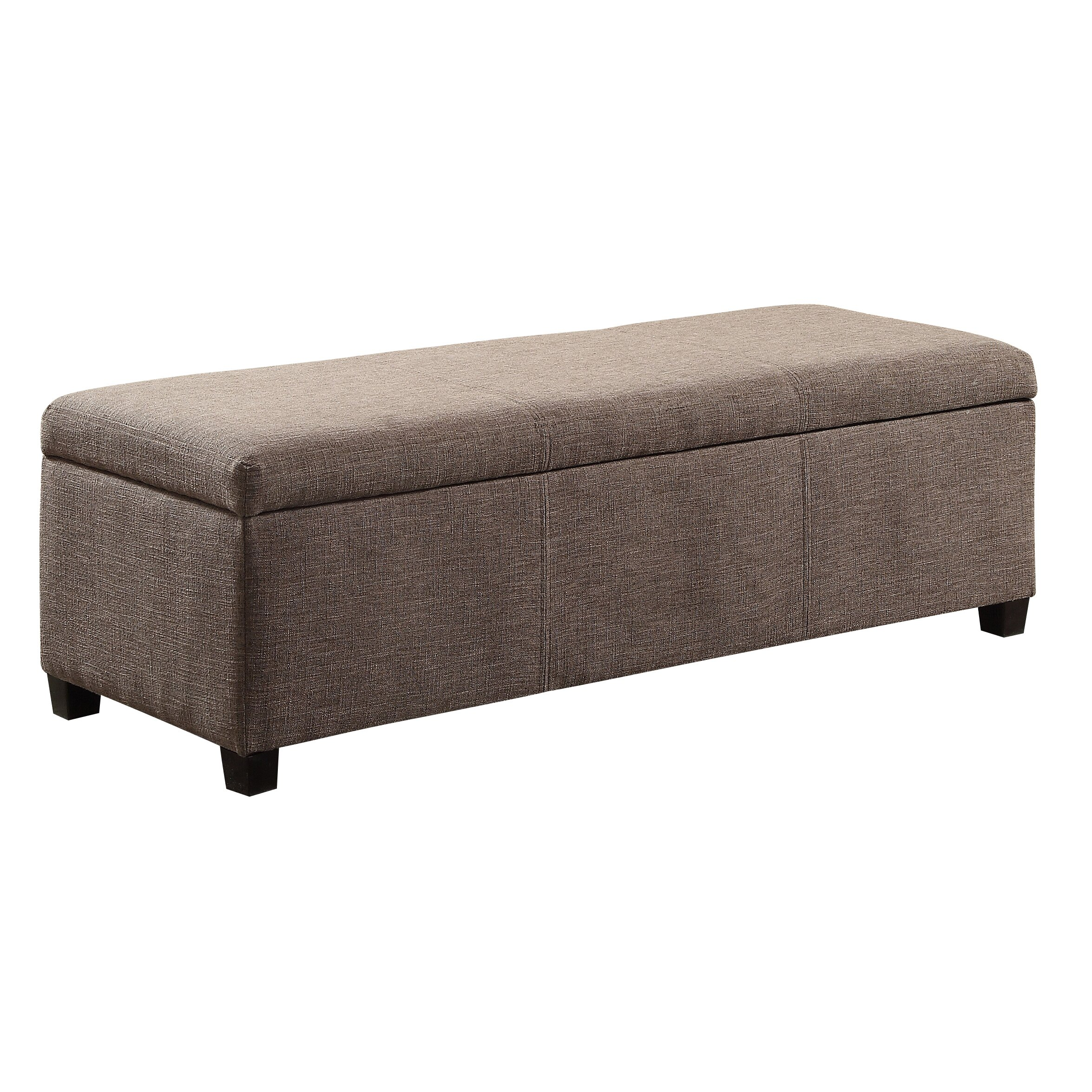 Simpli Home Avalon Upholstered Storage Ottoman & Reviews
