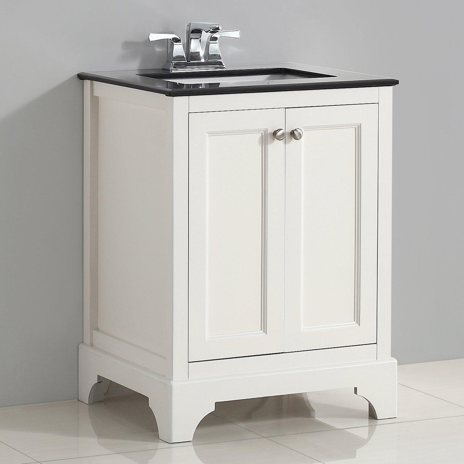 "Simpli Home Cambridge 25"" Single Bathroom Vanity Set"