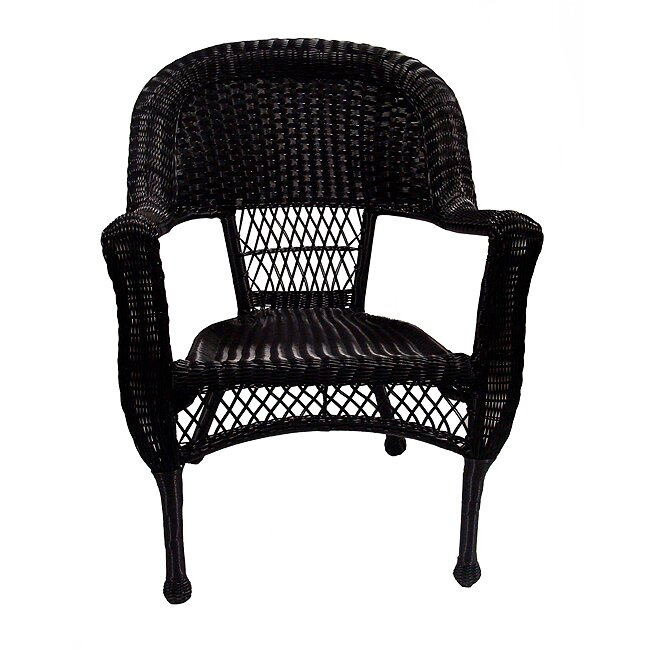 Wicker Chairs Dining: Resin Wicker Patio Dining Arm Chairs
