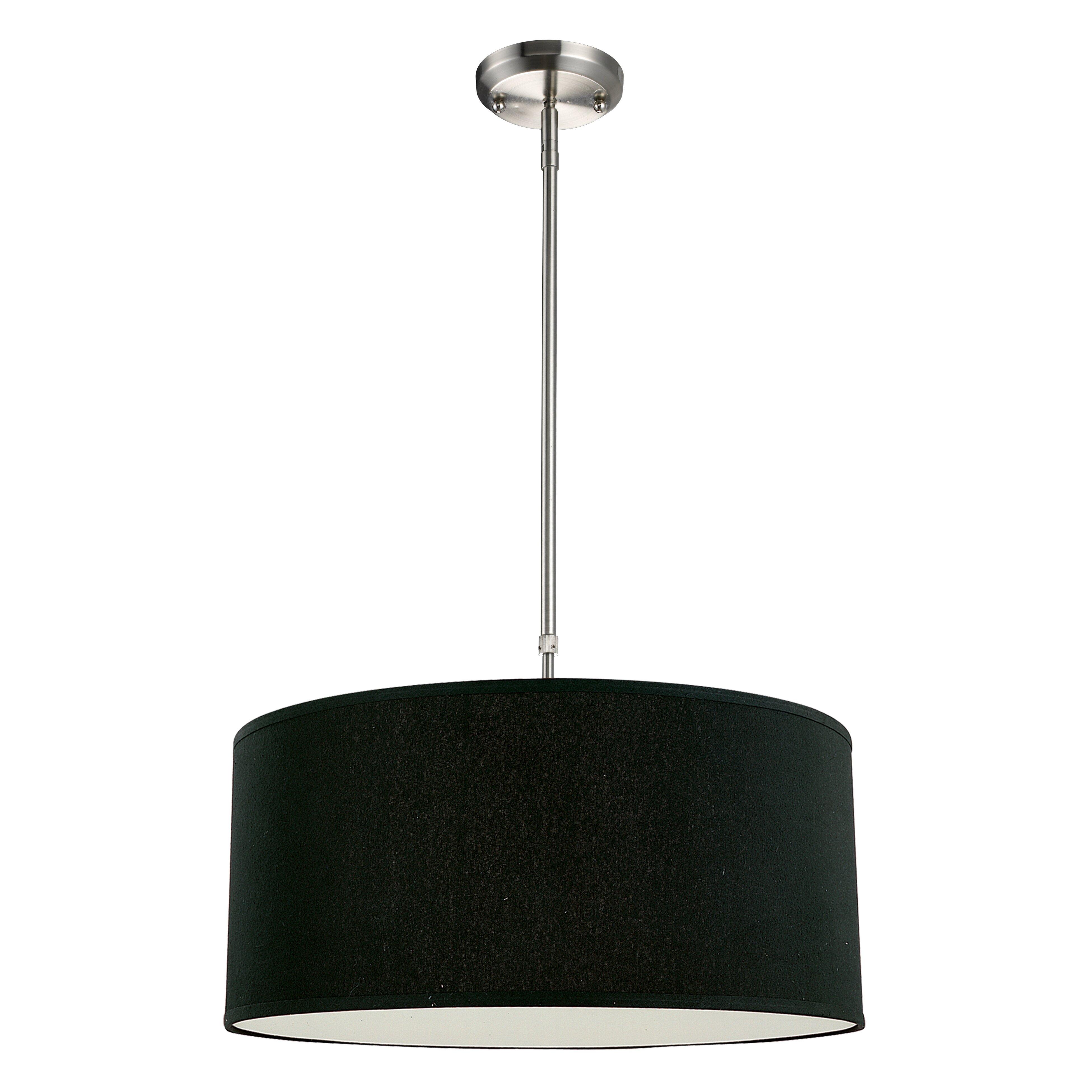 Foyer Drum Pendant Lighting : Z lite albion light drum foyer convertible pendant