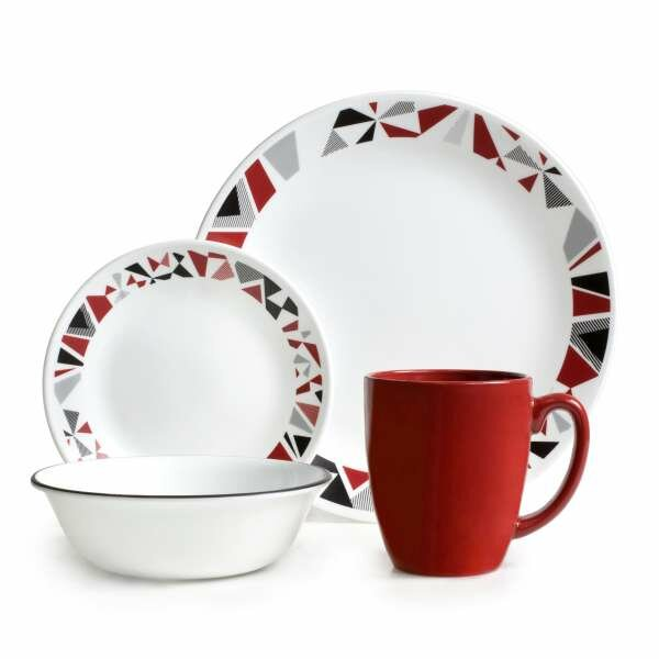 corelle livingware 16 piece dinnerware set reviews wayfair supply