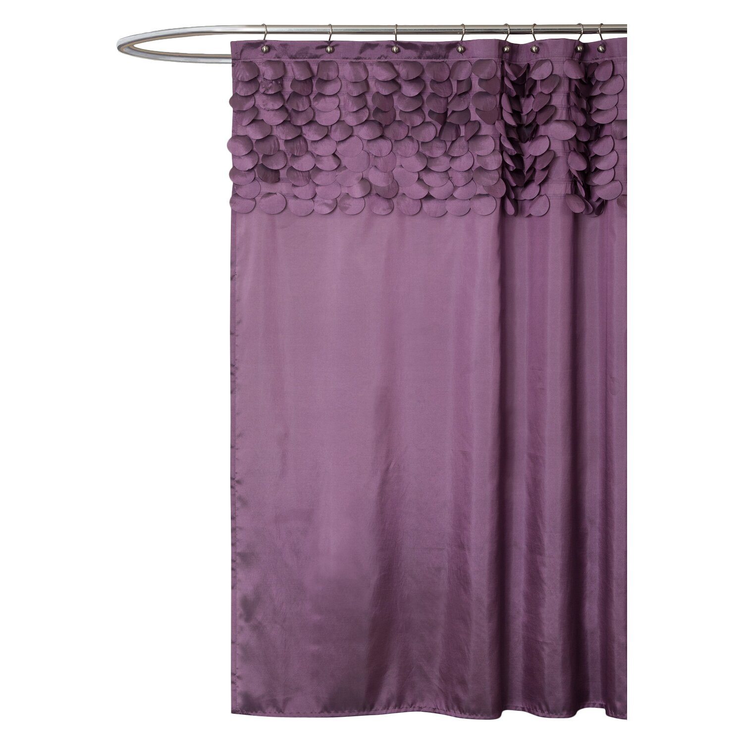 Short Shower Curtain Rod French Blue Shower Curtain