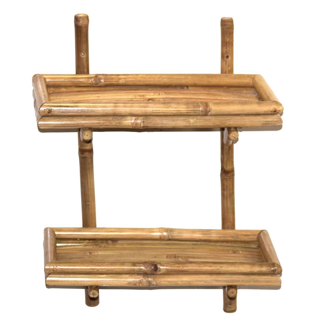 Bamboo54 Double Bamboo Wall Shelf & Reviews