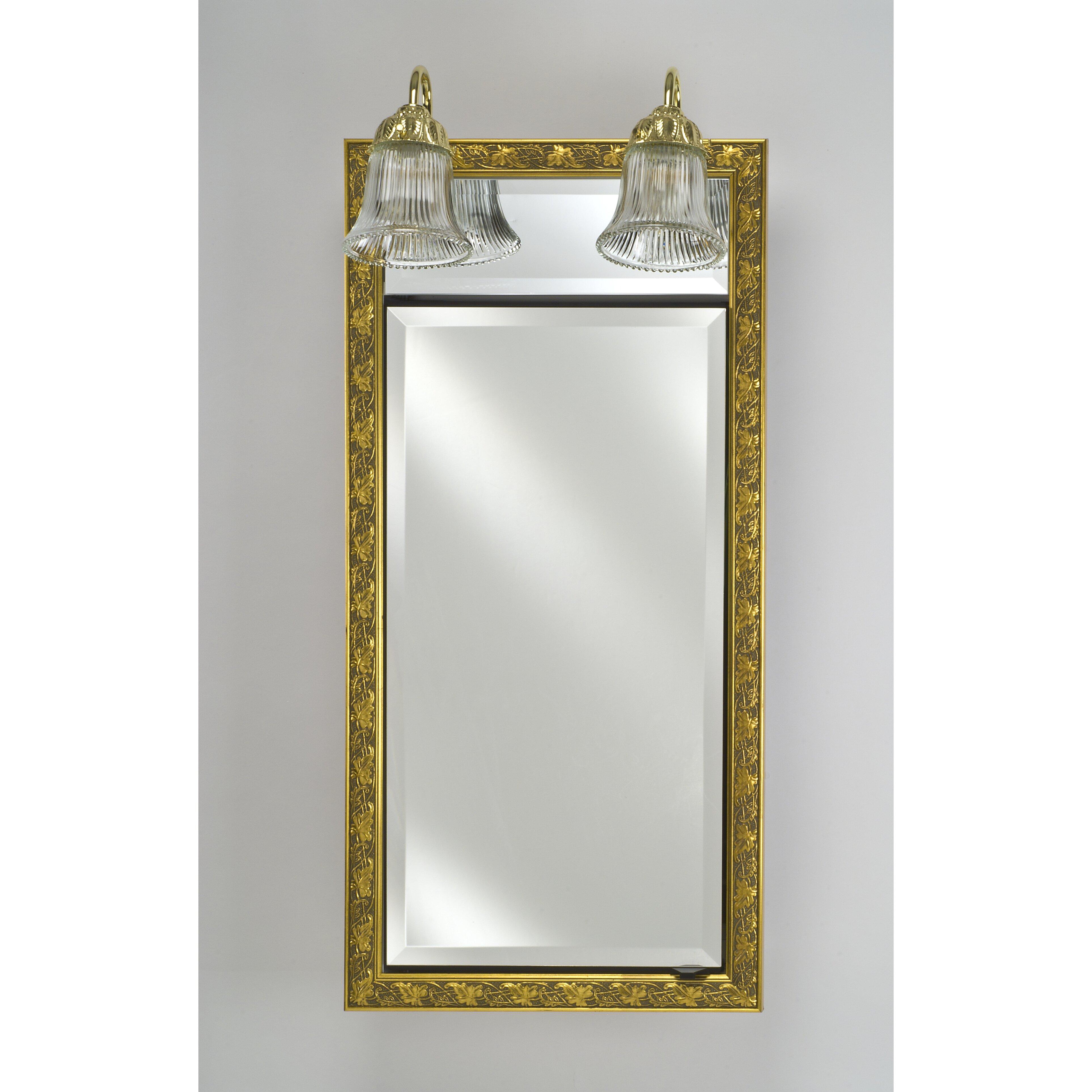 signature 24 x 40 recessed medicine cabinet wayfair. Black Bedroom Furniture Sets. Home Design Ideas