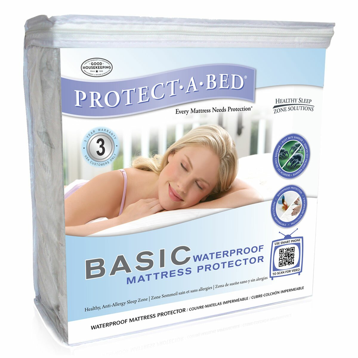 Protect A Bed Basic Fitted Mattress Protector Amp Reviews