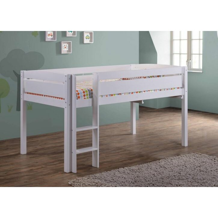 Canwood Furniture Whistler Junior Twin Loft Bed with Built