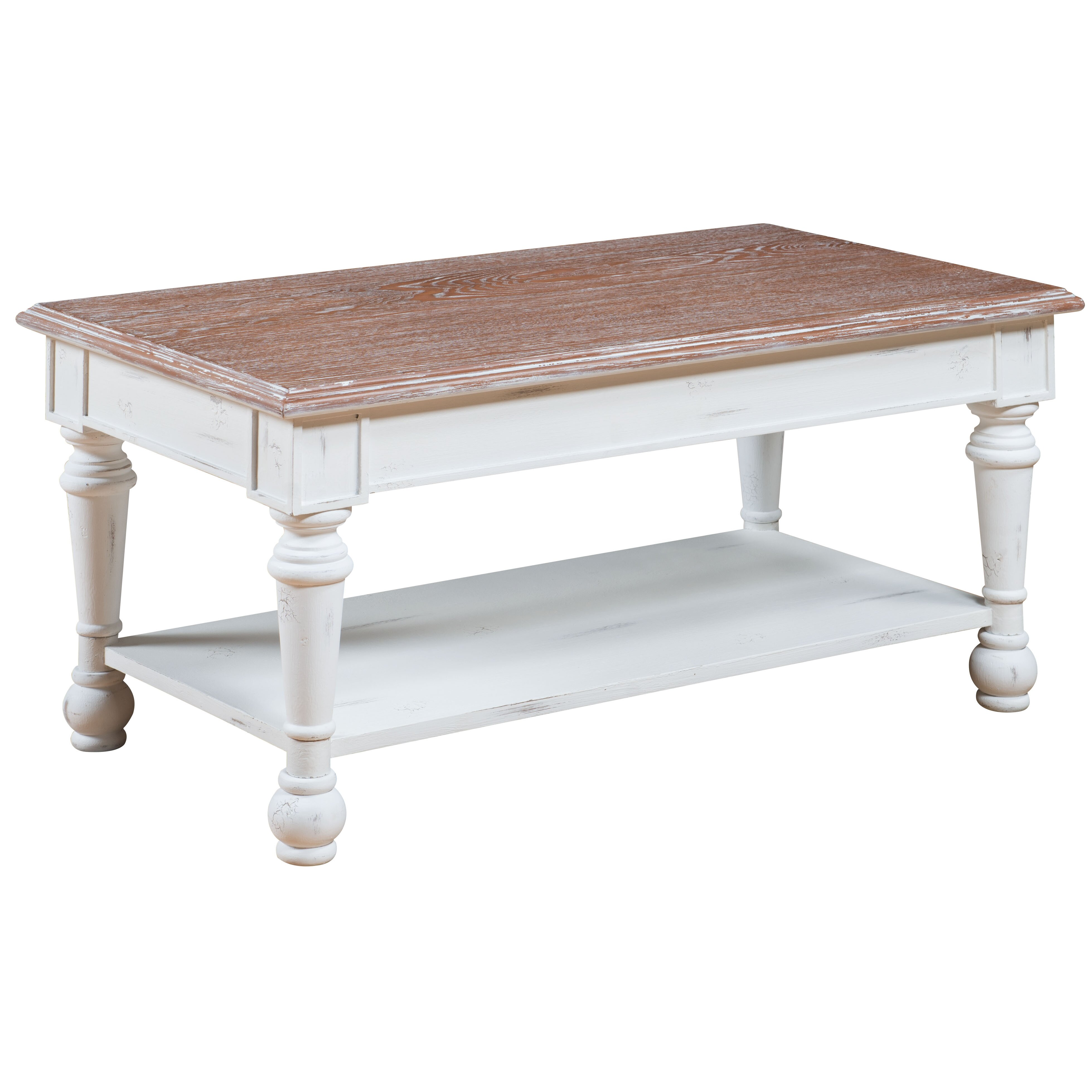 Gail 39 S Accents Cottage Coffee Table Reviews Wayfair
