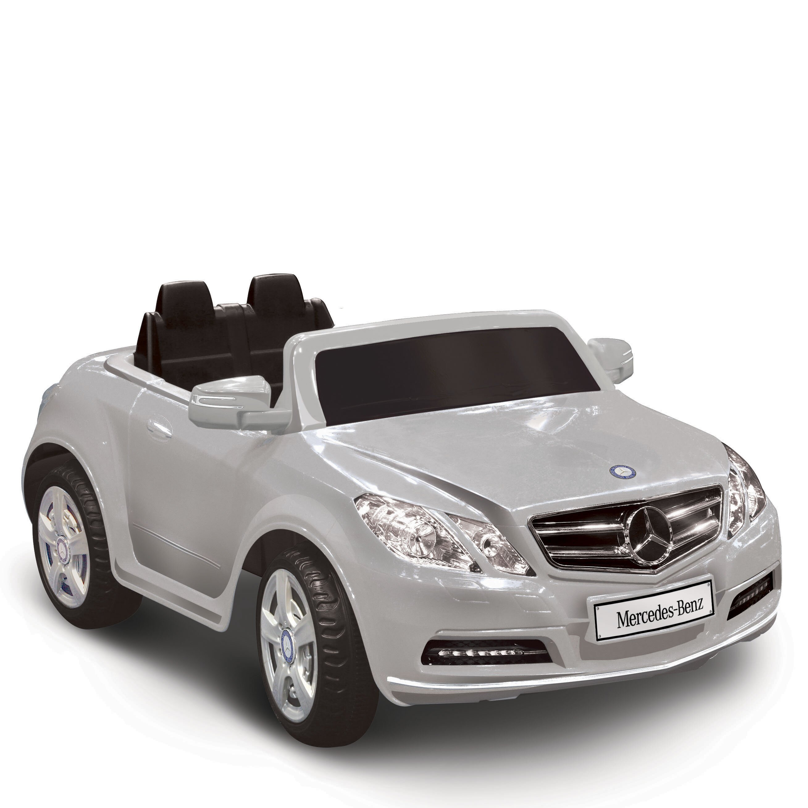 Kidz motorz mercedes benz e550 6v battery powered car for Car battery for mercedes benz