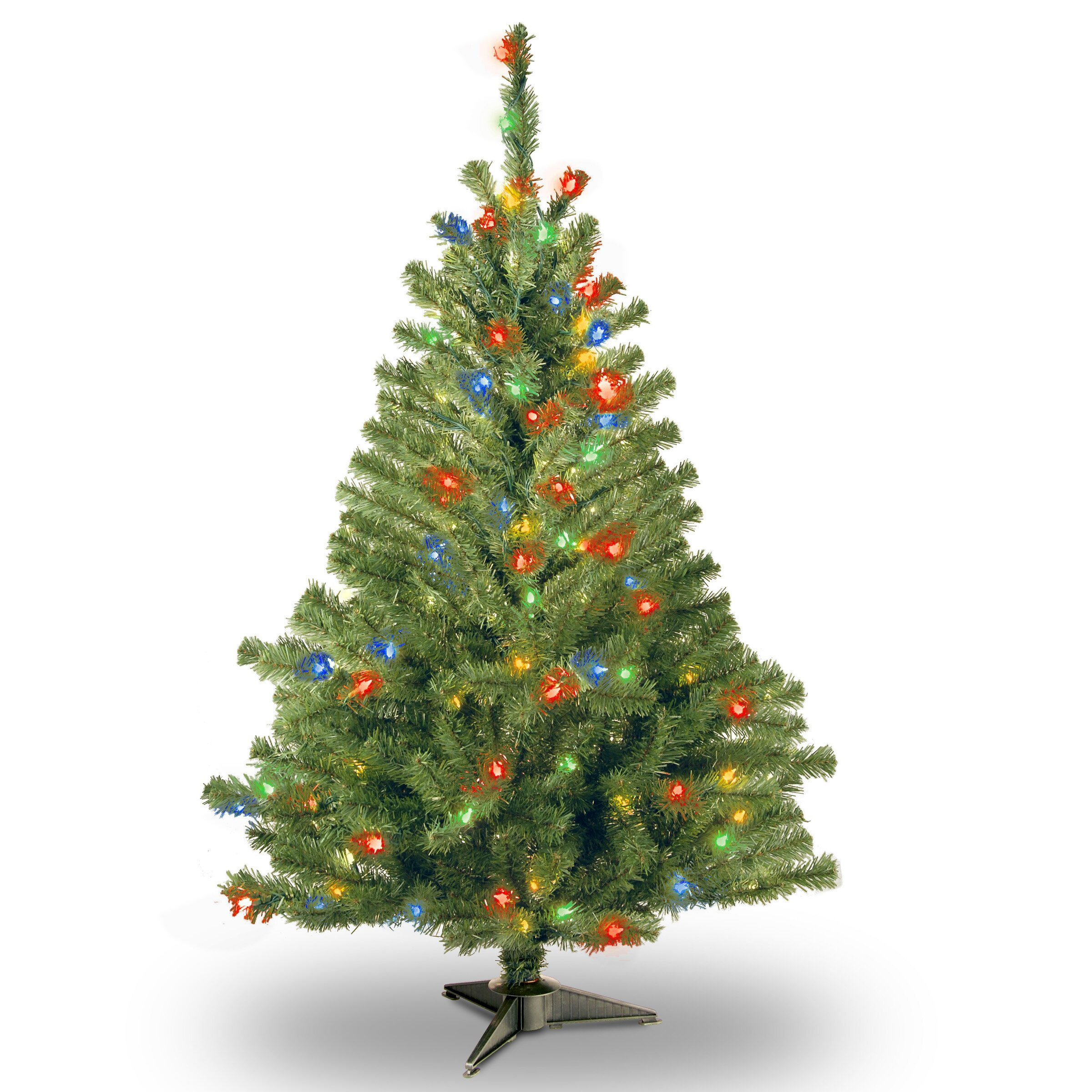 National Tree Co Kincaid Spruce 4 39 Green Artificial