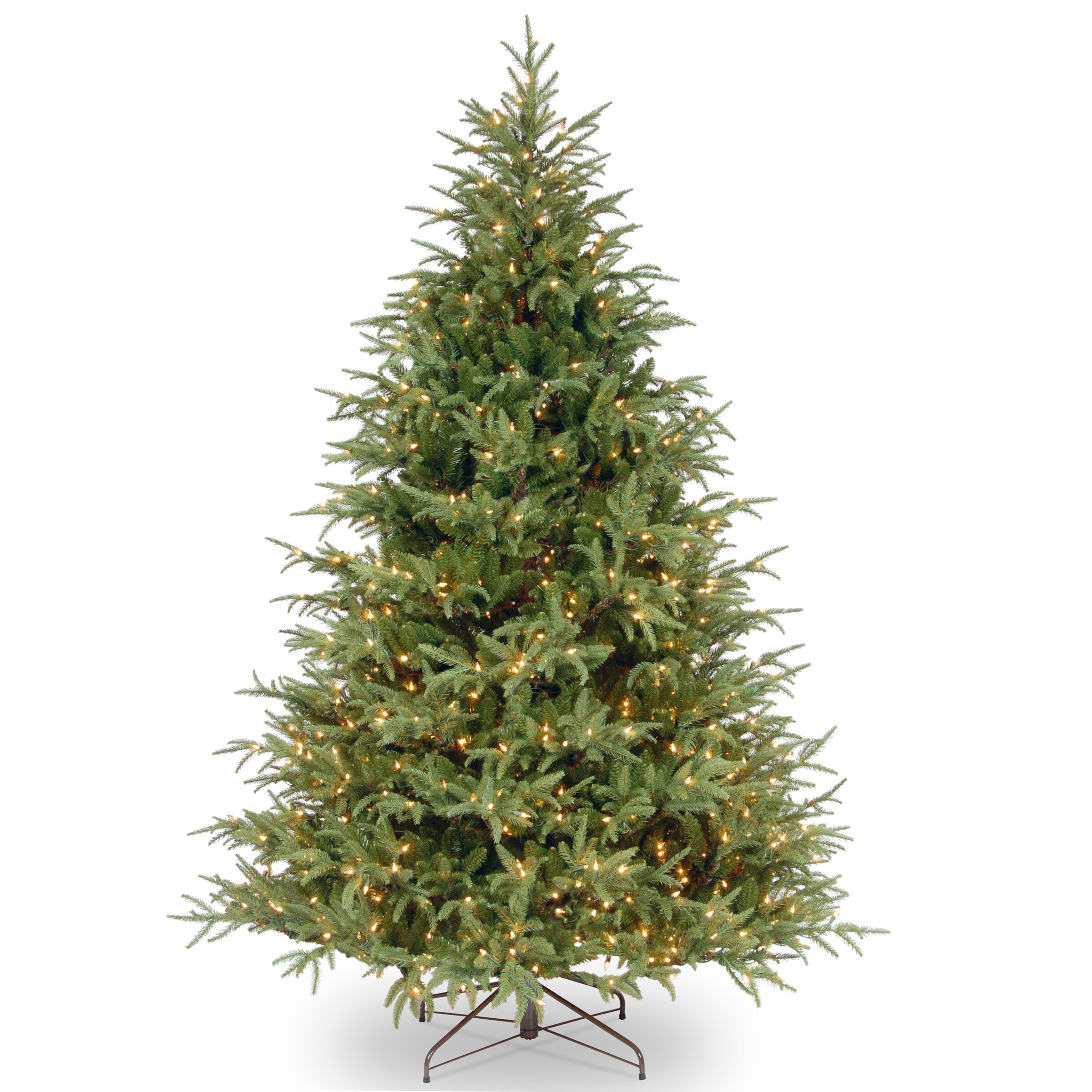 Frasier%b %%bgreen%bgrande%bartificial%bchristmas%btree%bwith%b%bpre Lit%bclear%blights%bwith%bstand