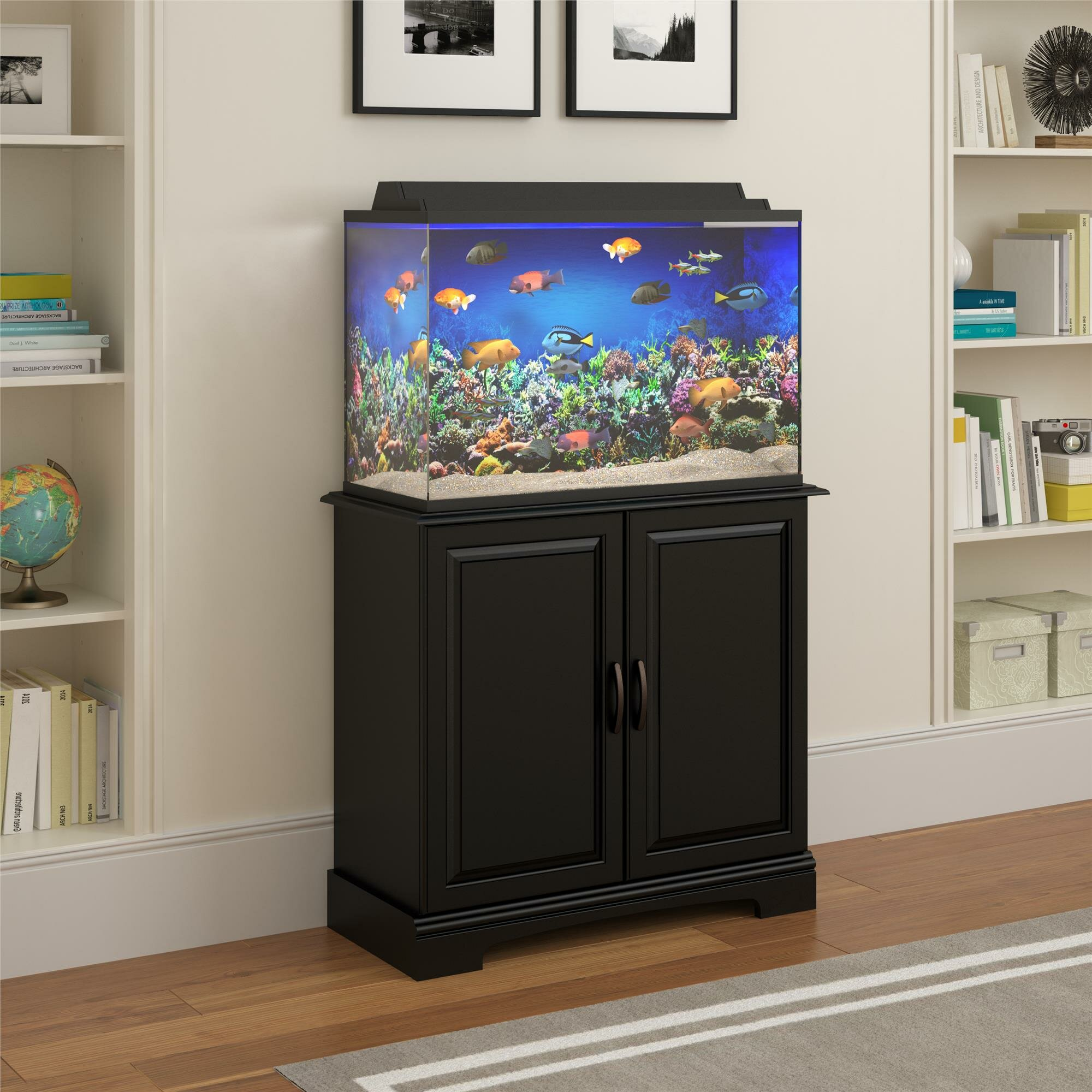 Altra Harbor 29 37 Gallon Cabinet Aquarium Stand & Reviews  Wayfair