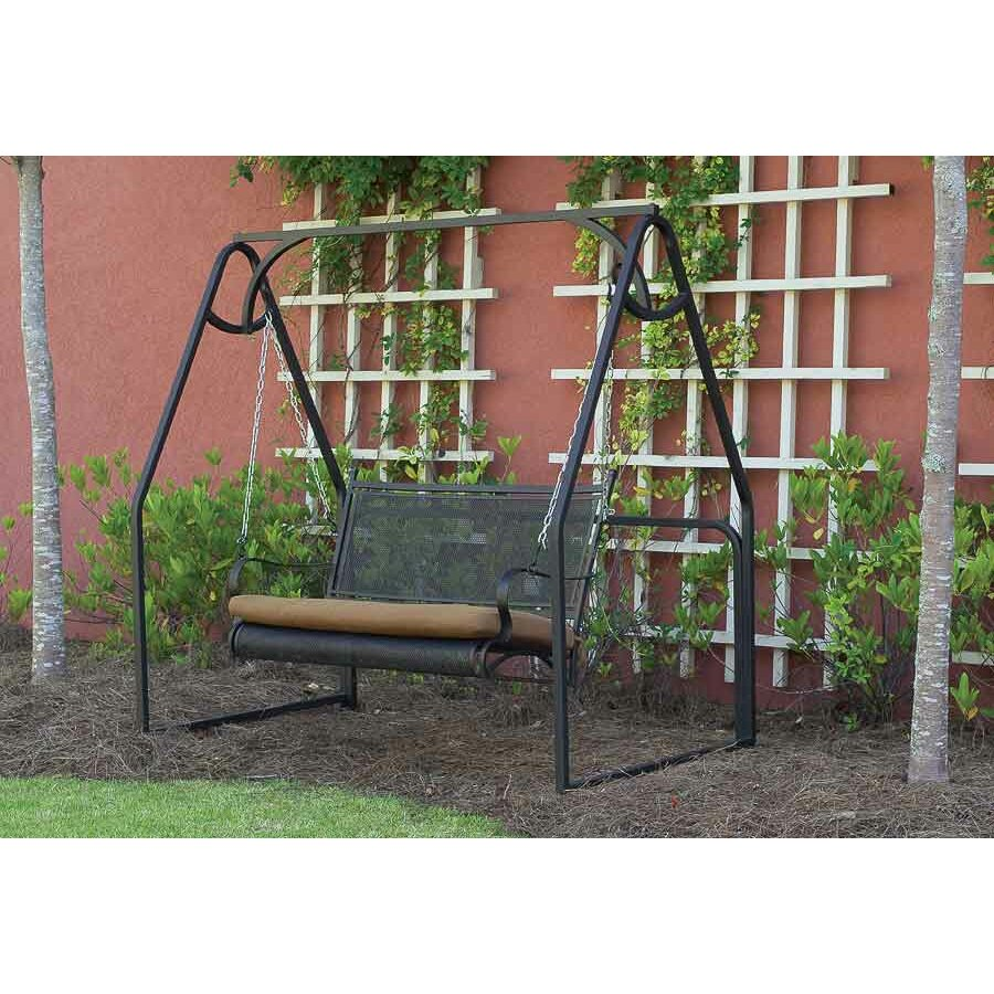 Paragon Casual Caledonia Porch Swing Stand Amp Reviews Wayfair