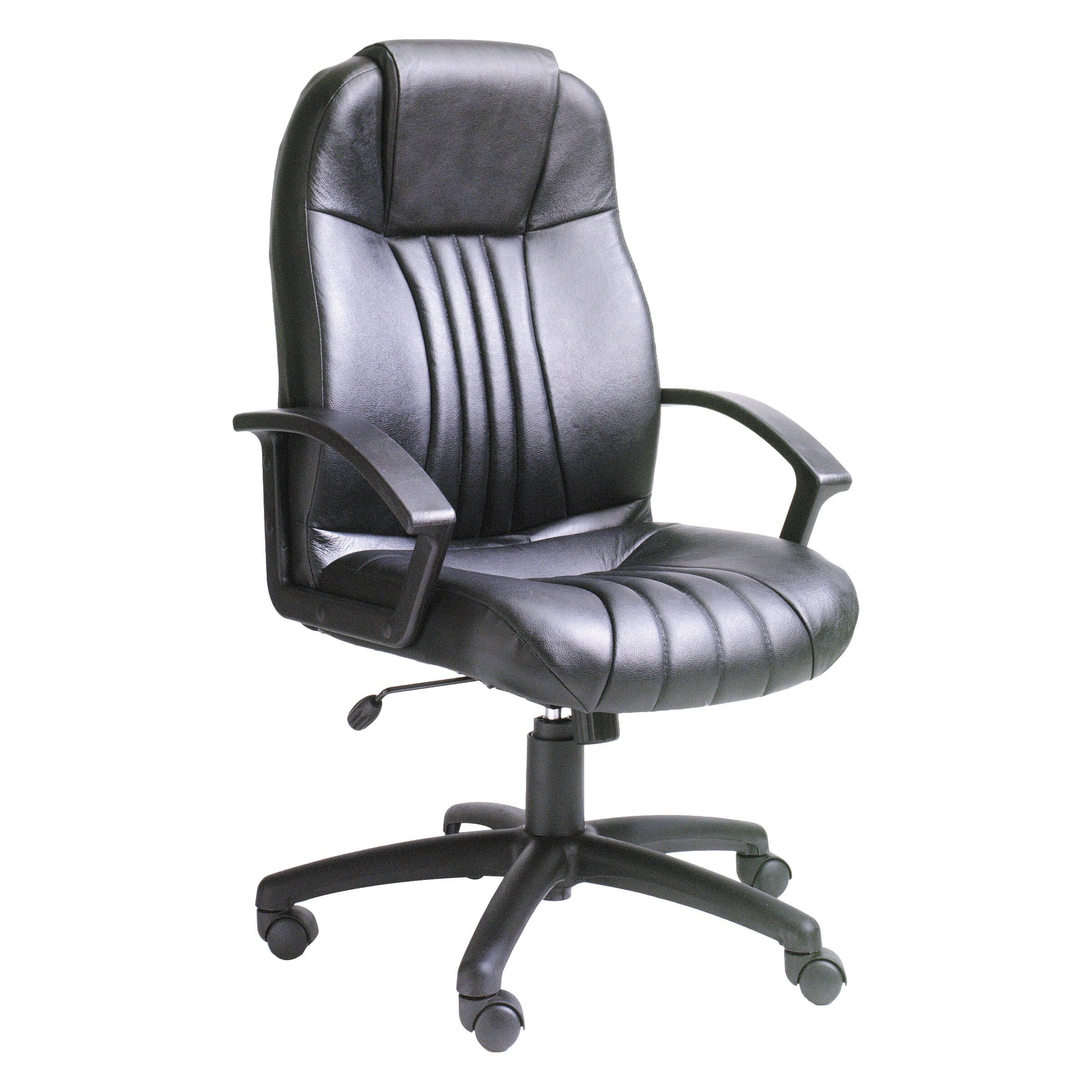 boss office products modern high back leather executive