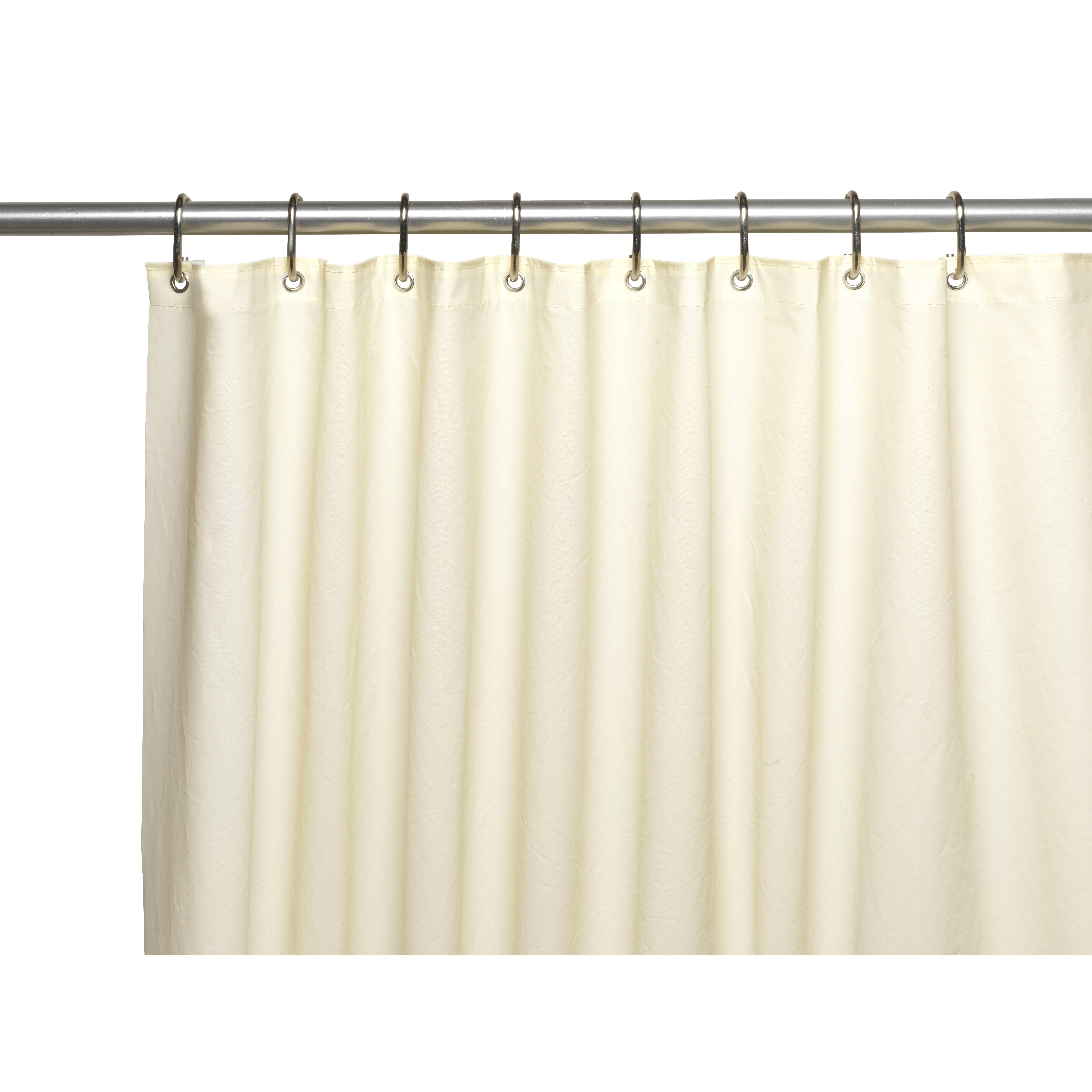 Carnation Home Fashions Clean Home EVA Shower Curtain