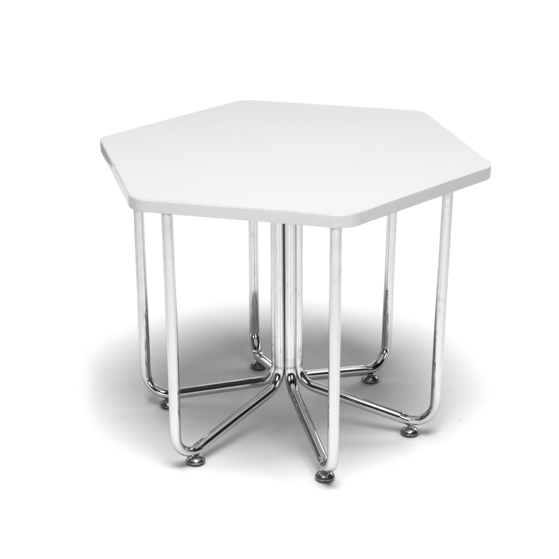 Classroom hexagon table pictures to pin on pinterest for Table cuisine 75 x 75