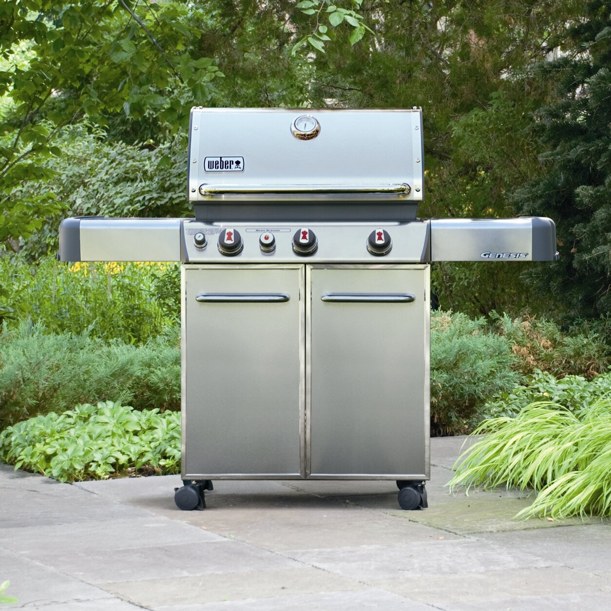 how to take off weber grill wheels