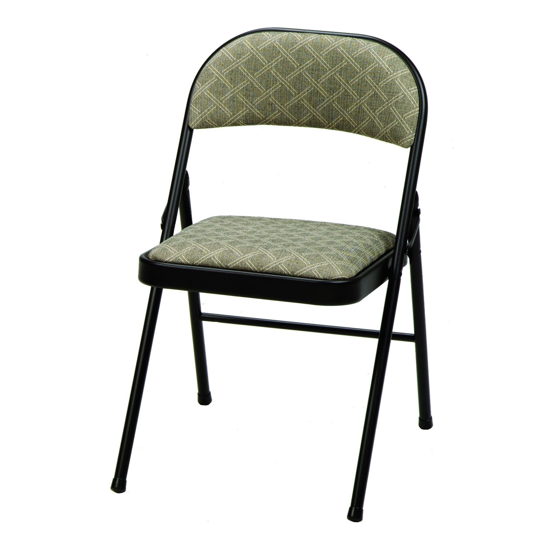 Meco Deluxe Fabric Padded Folding Chair & Reviews