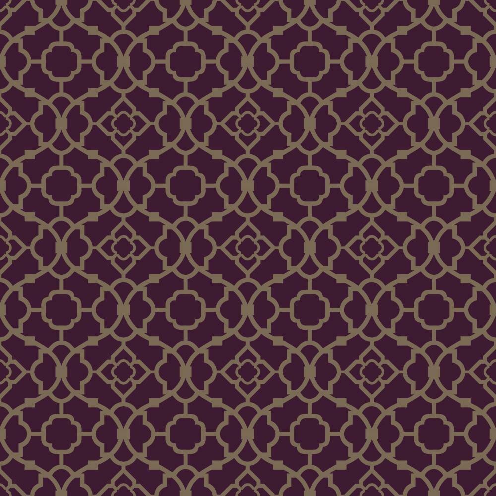 York Wallcoverings Waverly Small Prints Lovely Lattice 33