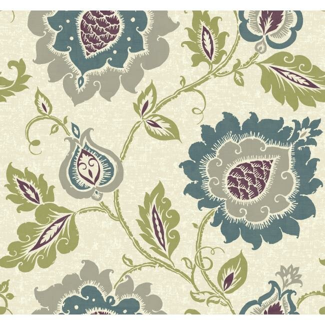 carey lind vibe removable 27 39 x 27 jaco floral wallpaper
