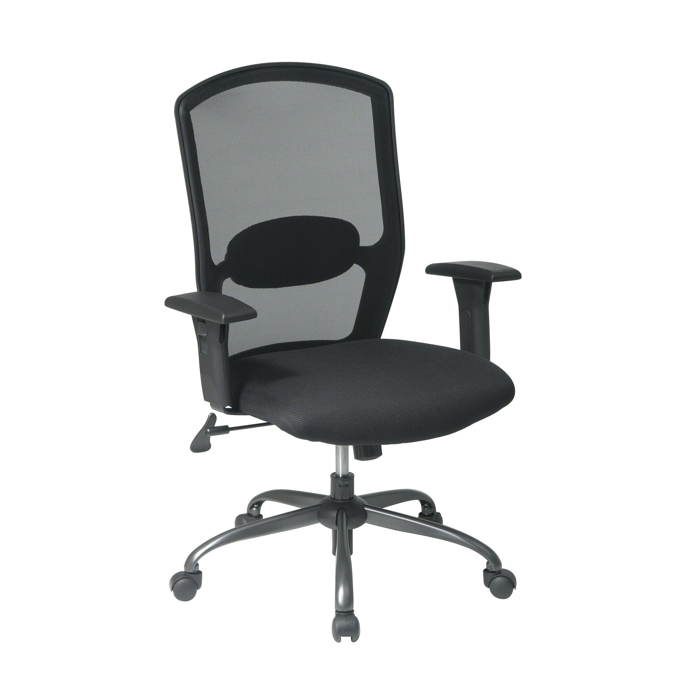 Office Star Screen Back Mesh Seat Office Chair Reviews Wayfair