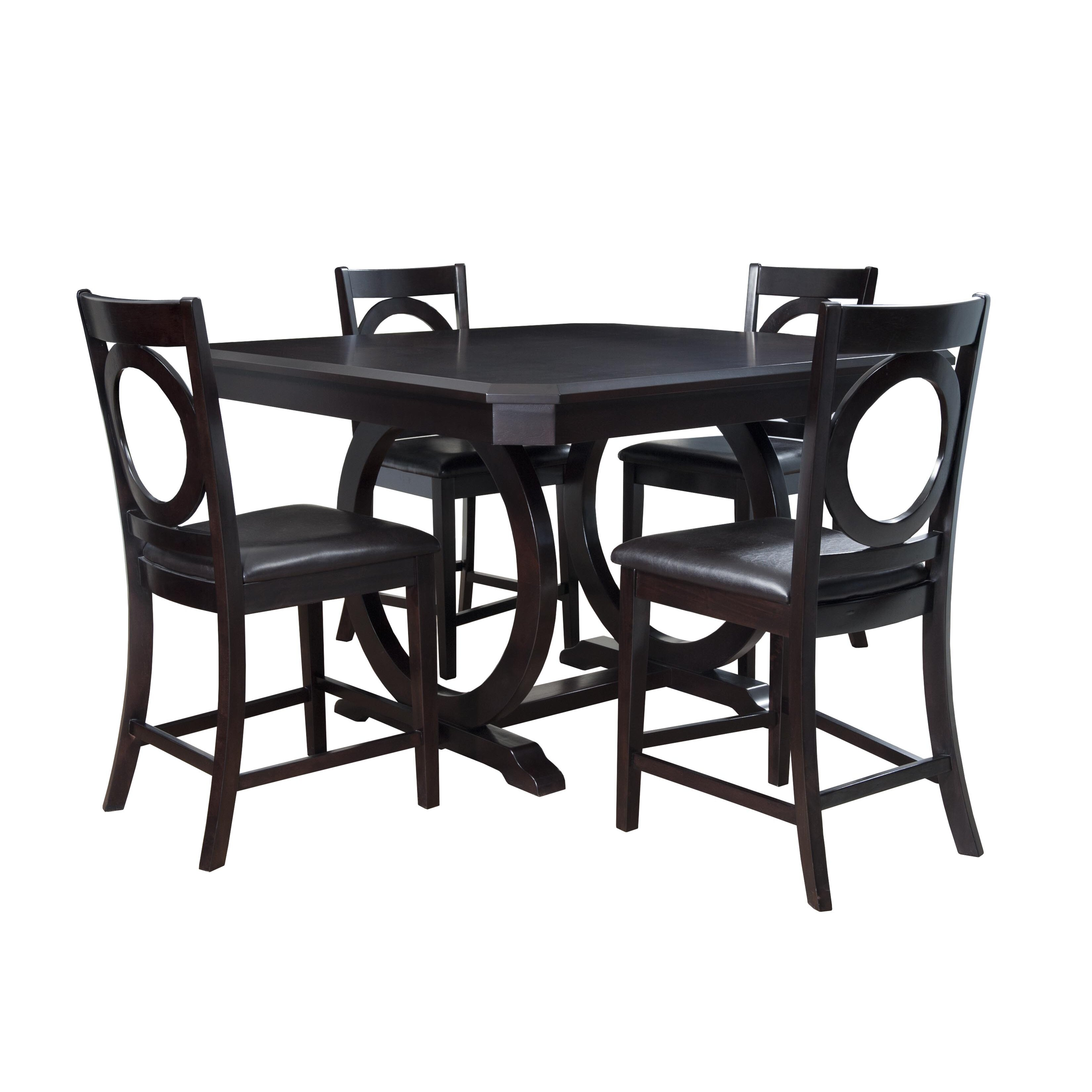 Counter Height Dining Sets 5 Piece : Powell Furniture Brigham 5 Piece Counter Height Dining Set
