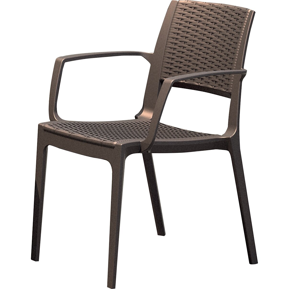 Stacking Dining Room Chairs: Capri Stacking Dining Arm Chair