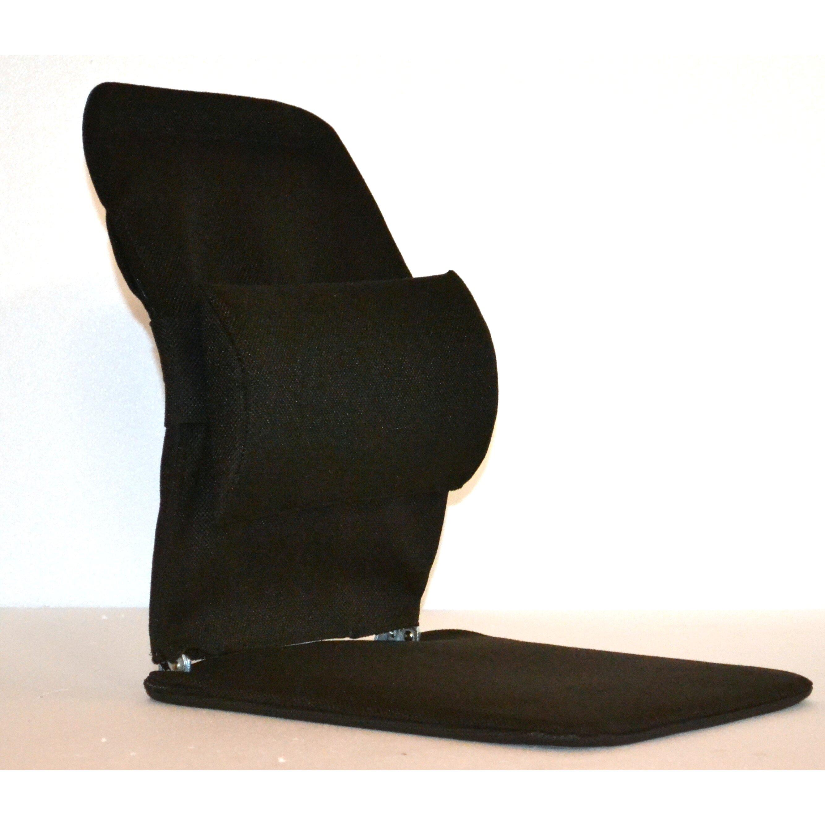 sacro ease seat back cushion with adjustable lumbar