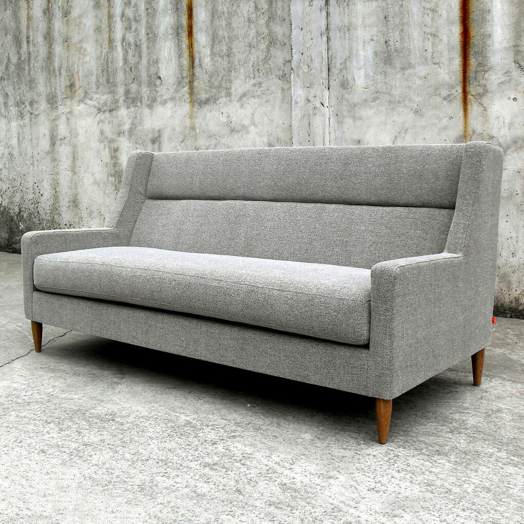 gus modern carmichael loft sofa reviews wayfair. Black Bedroom Furniture Sets. Home Design Ideas