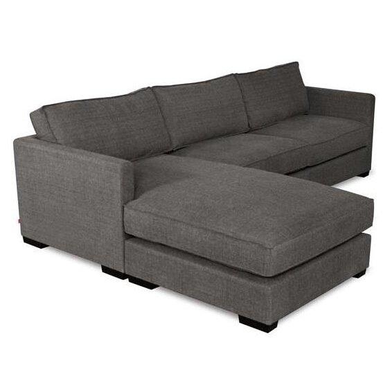 Modern Sofa Richmond: Gus Modern Richmond Bi-Sectional & Reviews