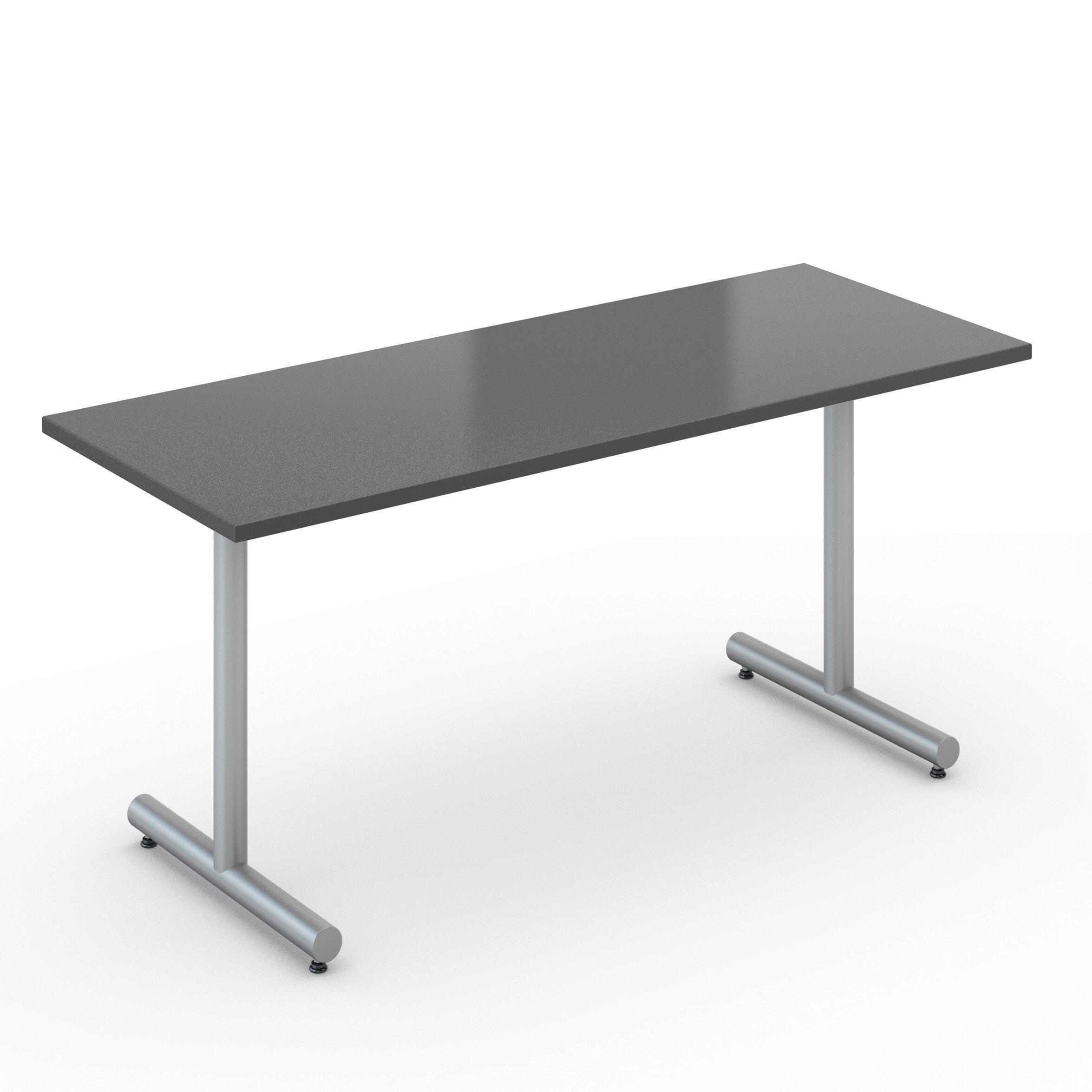 Saturn 20 Quot X 48 Quot Desk Size Training Table Wayfair Supply