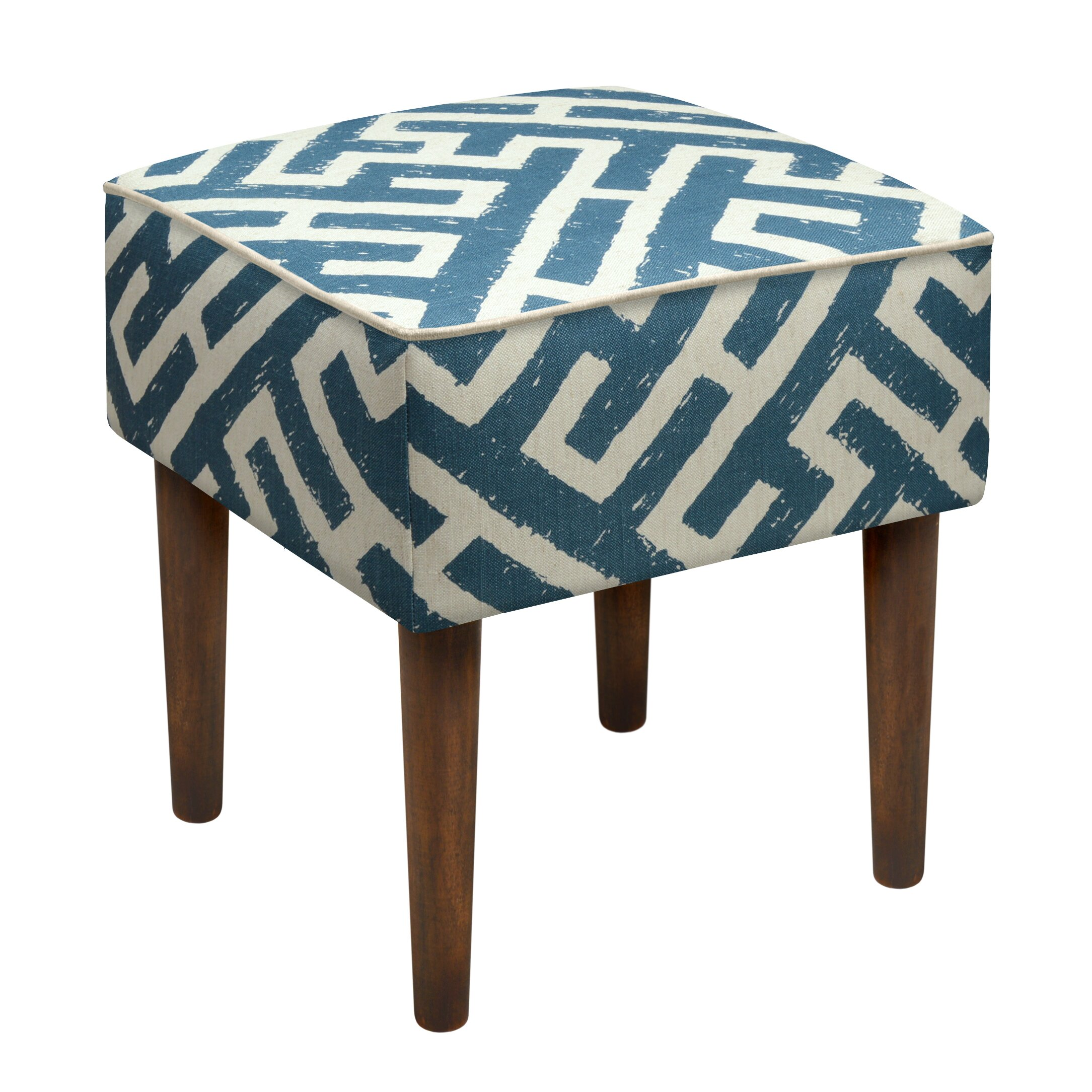 123 Creations Lattice Upholstered Vanity Stool Amp Reviews