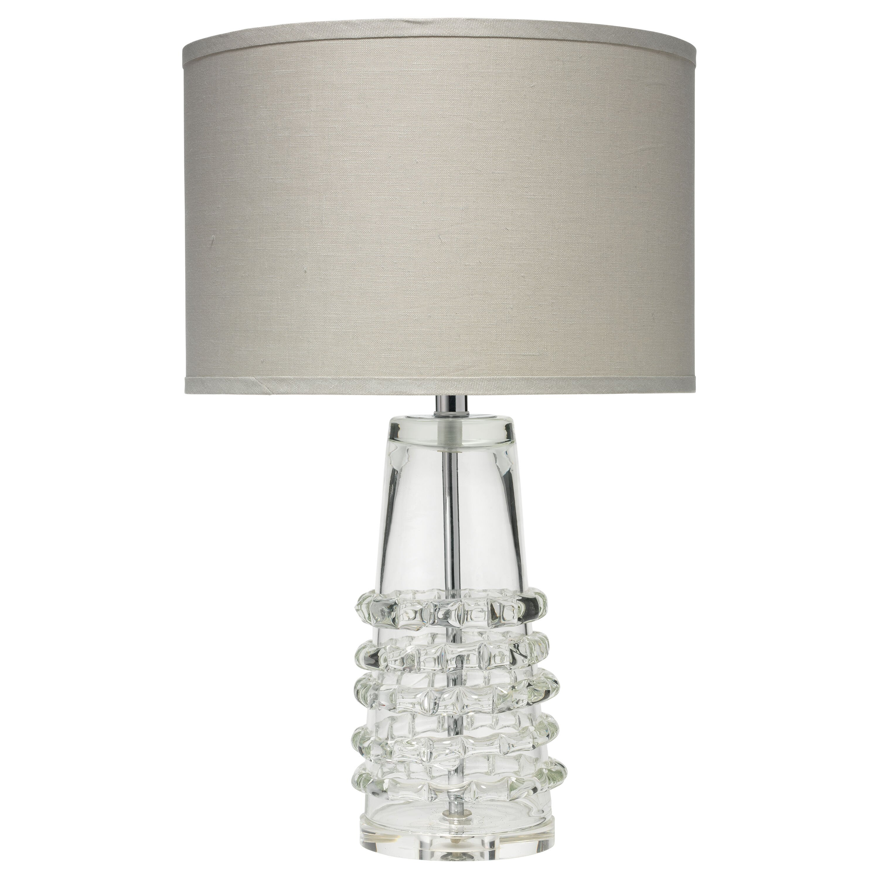 ribbon 24 h table lamp with drum shade wayfair. Black Bedroom Furniture Sets. Home Design Ideas