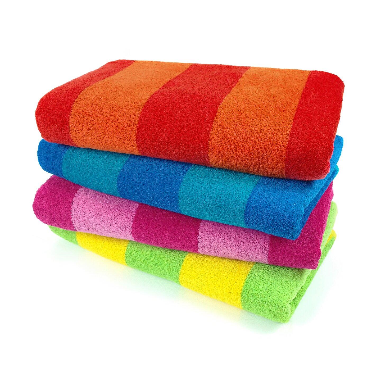 Kaufman Sales Two Color Stripe Beach Towel & Reviews