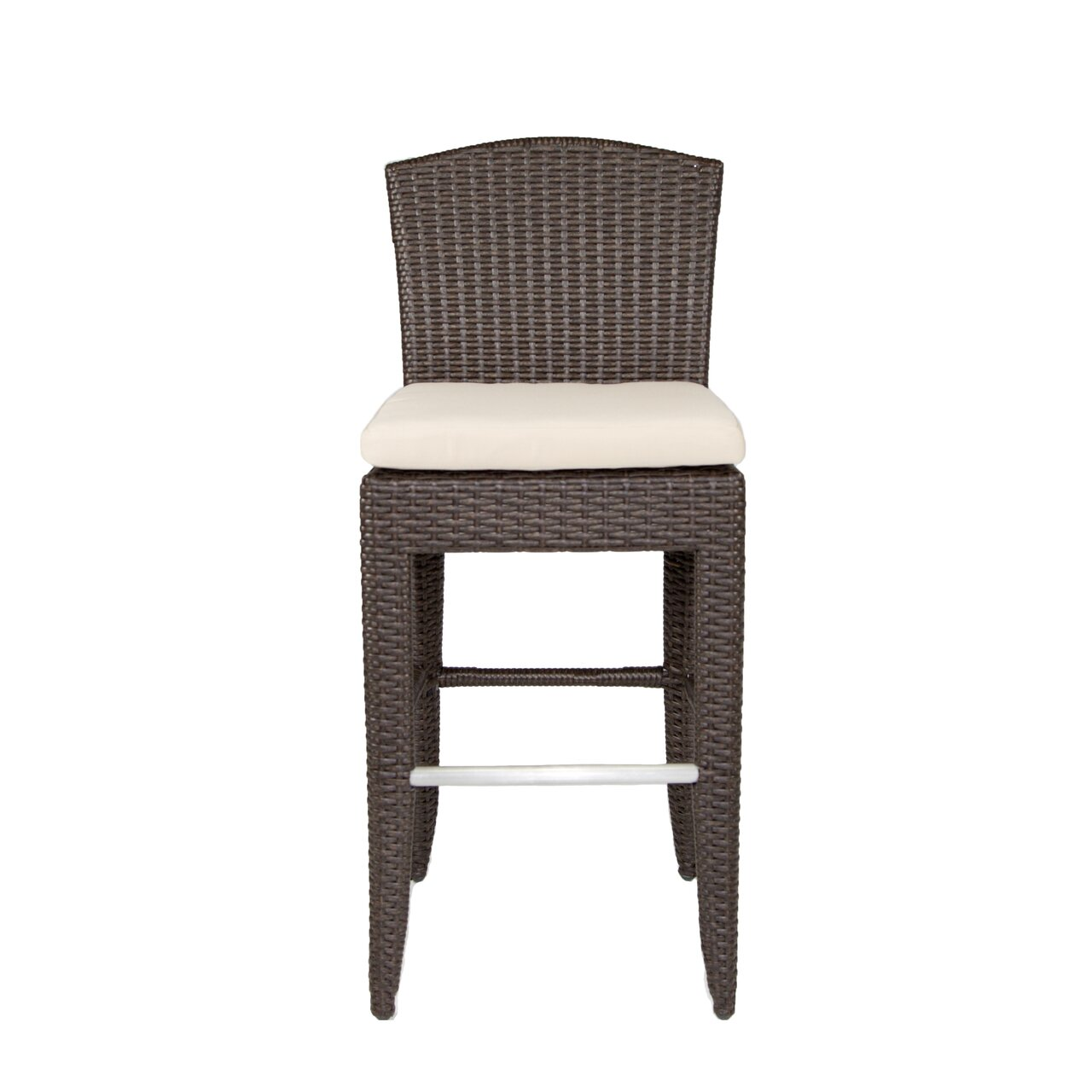 cabo 28 bar stool with cushion by patio heaven