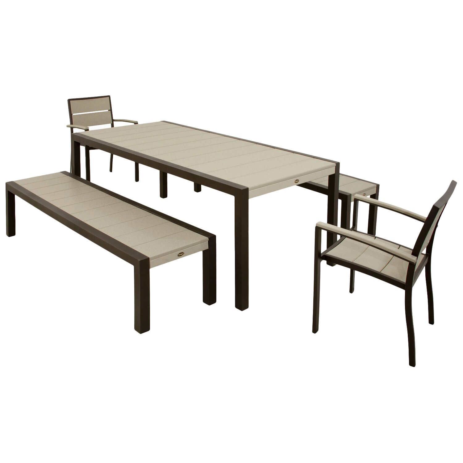 outdoor patio furniture six person patio dining sets trex sku
