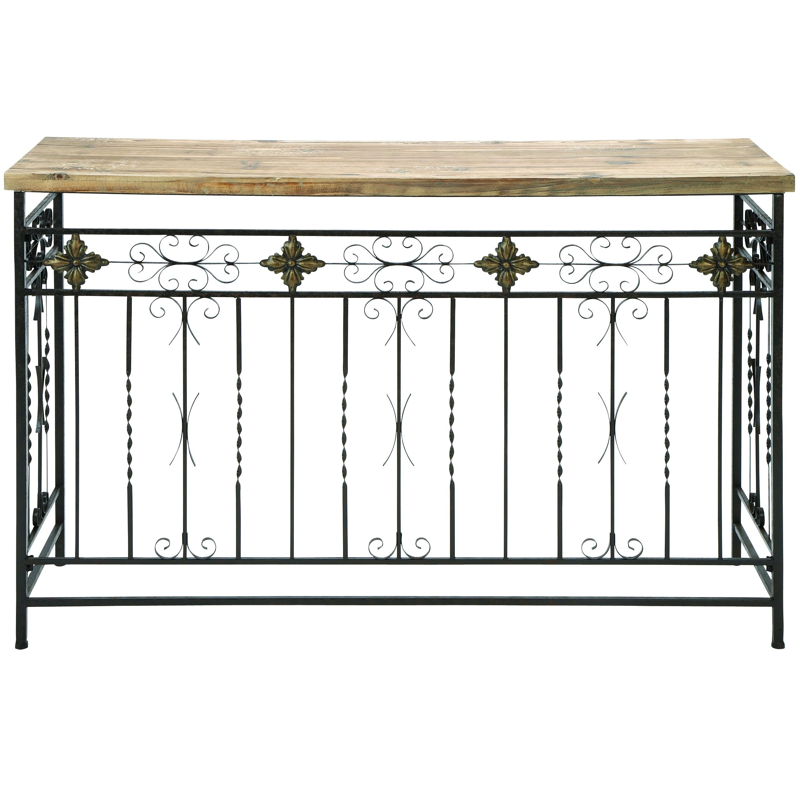 Woodland Imports Rustic Console