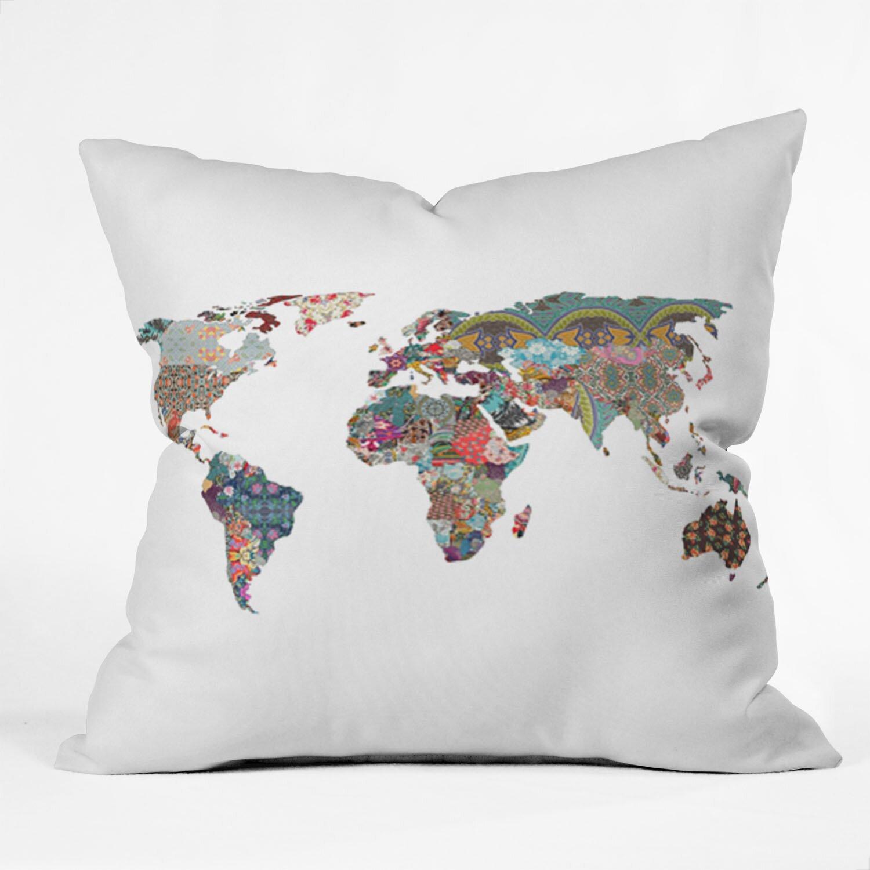 Wayfair Green Throw Pillows : Bianca Green Louis Armstrong Told Us So Indoor/Outdoor Throw Pillow Wayfair