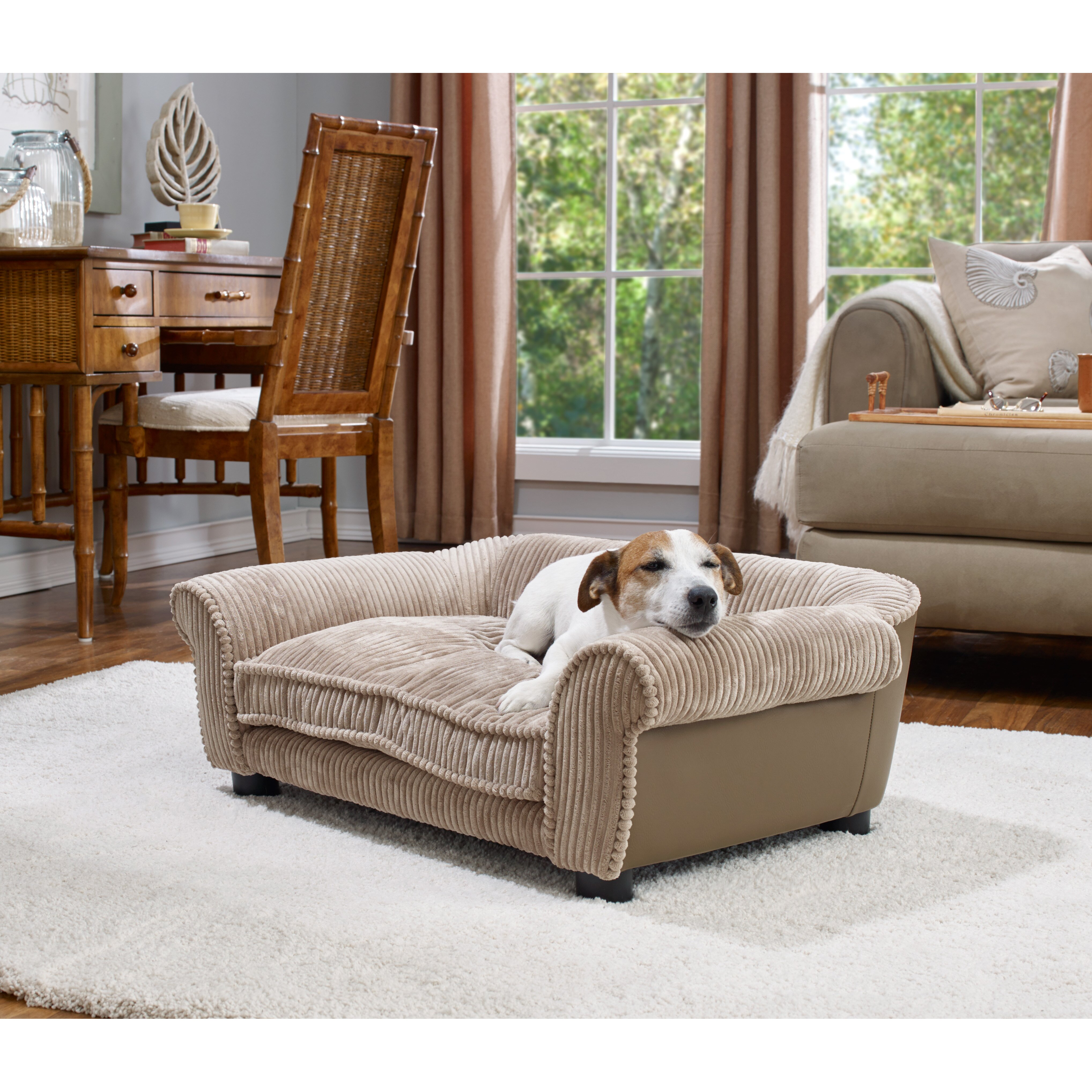 Enchanted Home Pet Slade Dog Sofa Amp Reviews Wayfair