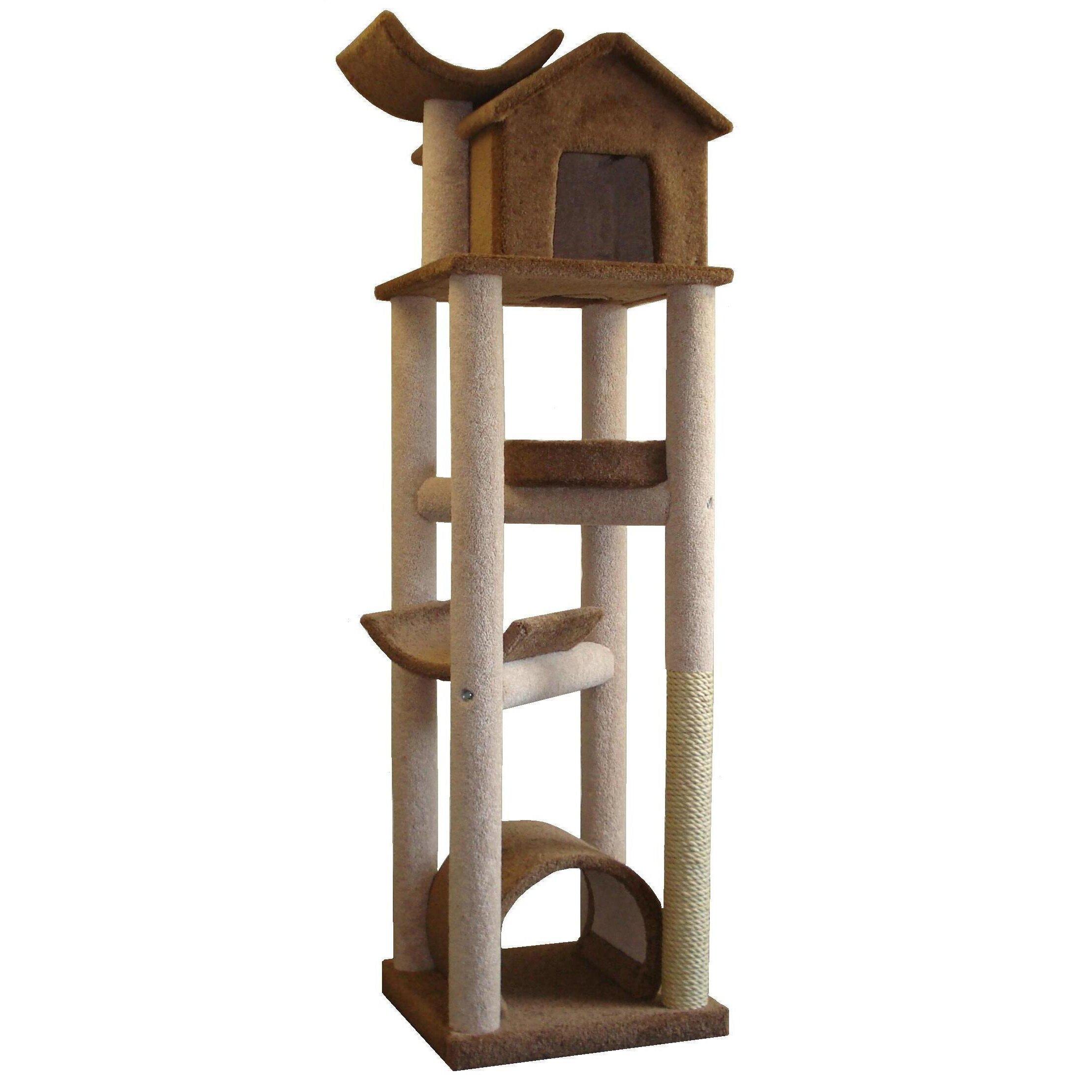 """Molly And Friends 86"""" The Skyscraper Cat Tree & Reviews"""