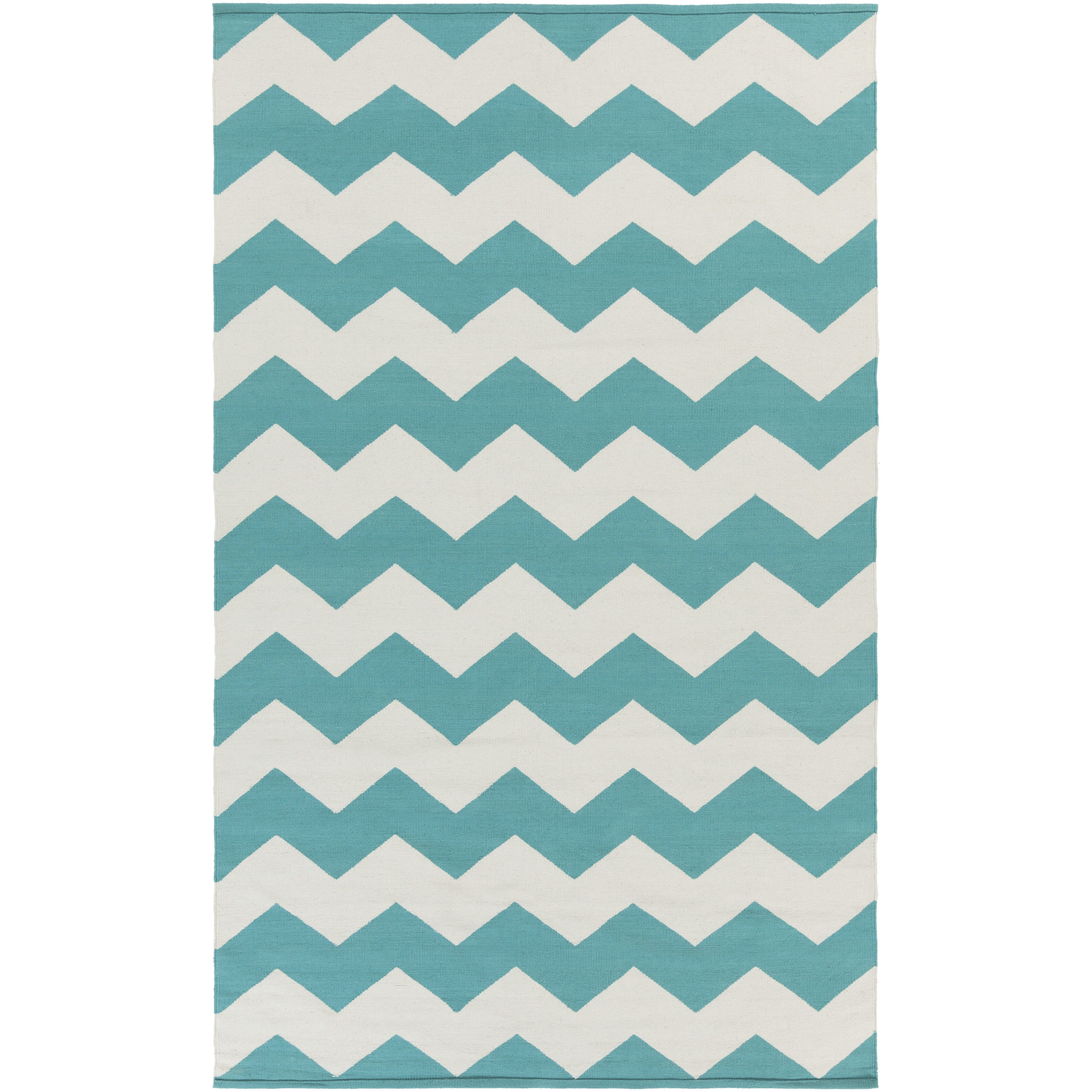 Artistic Weavers Vogue Teal Chevron Collins Area Rug