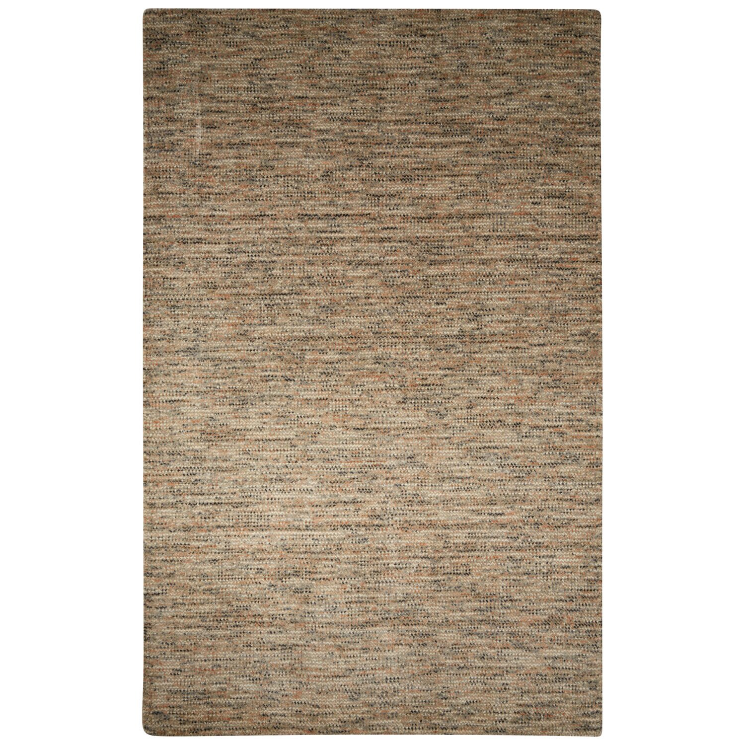 Alton hand loomed gray tan area rug wayfair for Grey and tan rug