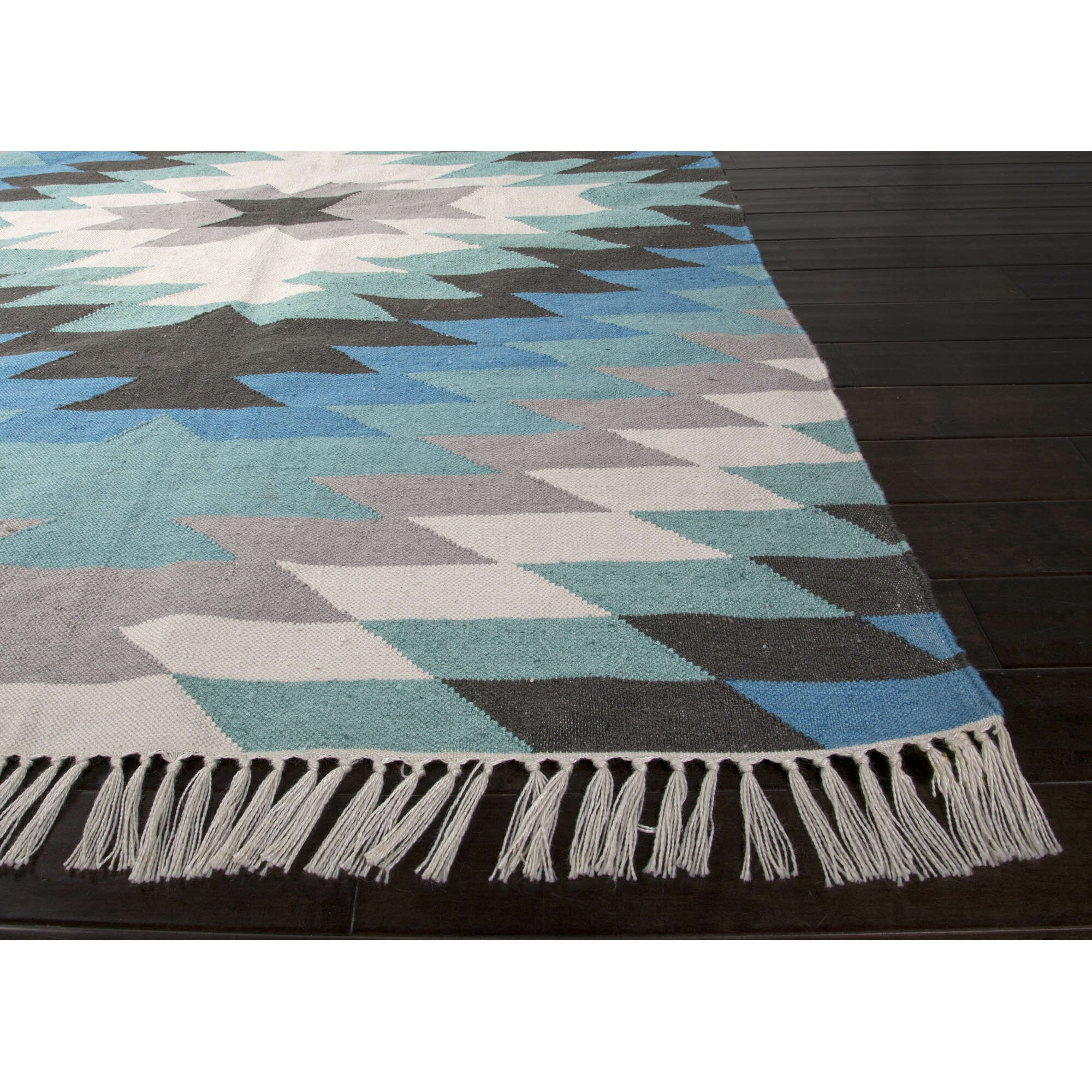 Desert Blue Green Indoor Outdoor Area Rug