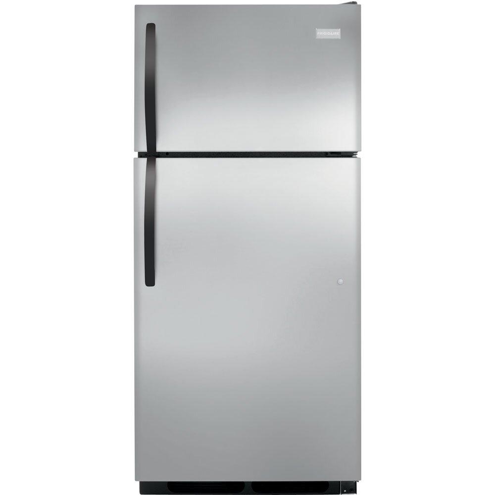 frigidaire 16 3 cu ft top freezer refrigerator reviews wayfair. Black Bedroom Furniture Sets. Home Design Ideas