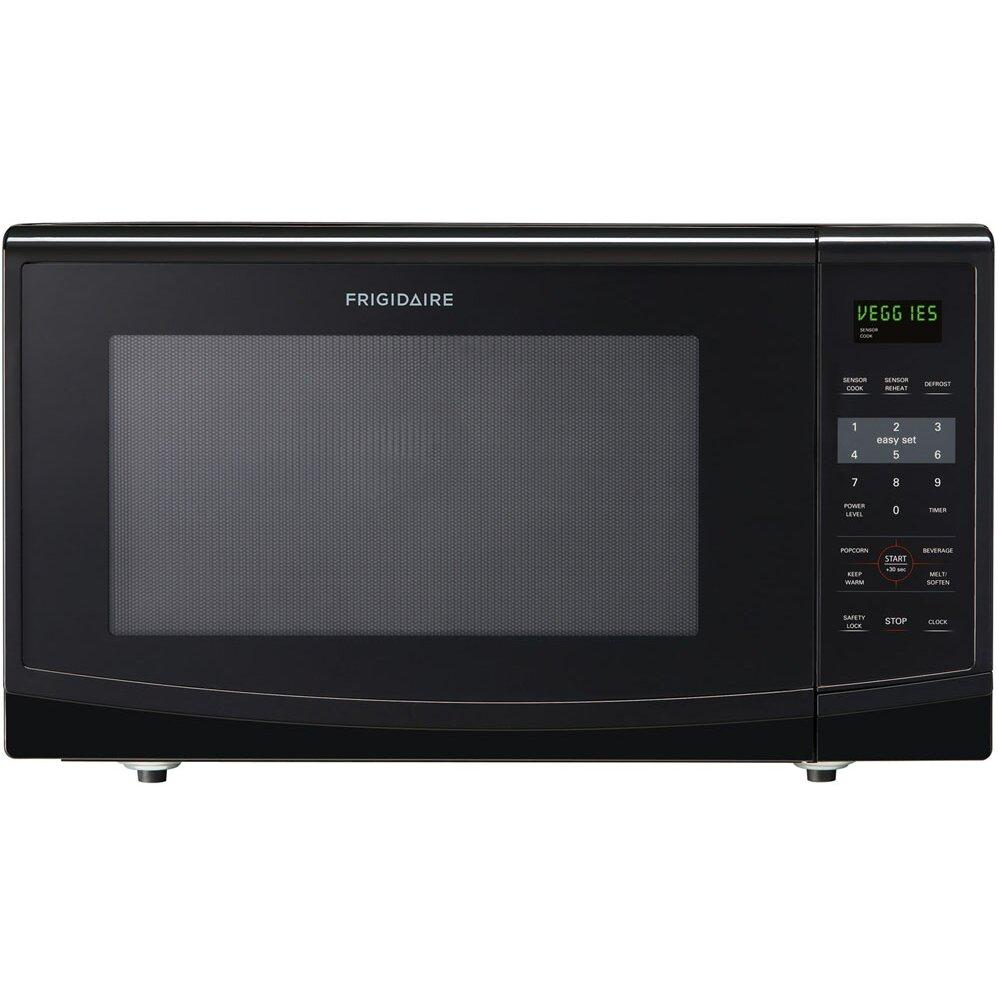 Countertop Microwave 2 Cu Ft : Frigidaire 2.2 Cu. Ft. 1200W Countertop Microwave with Safety Lock ...