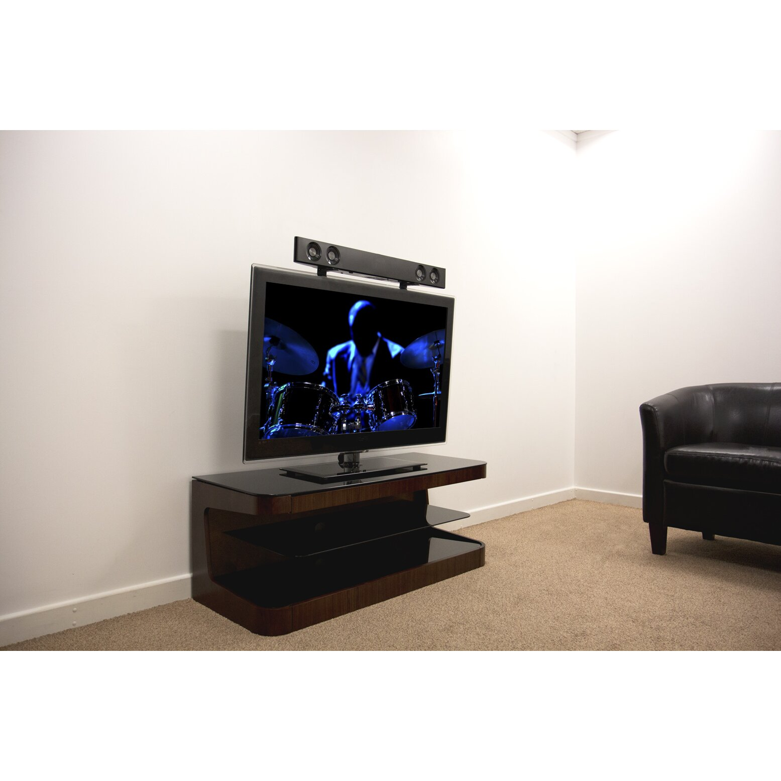 Avf Universal Soundbar Wall Mount For Flat Panel Screens Reviews Wayfair